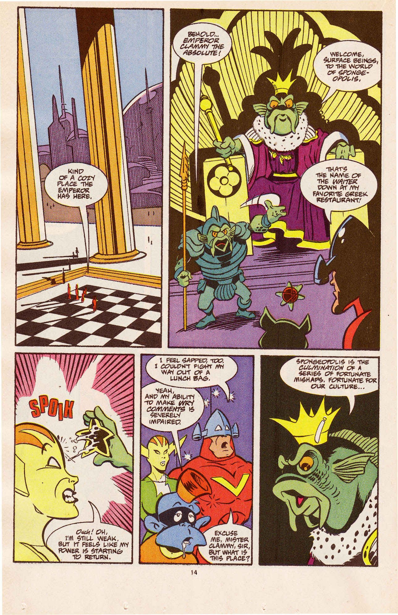 Read online Defenders of Dynatron City comic -  Issue #4 - 16
