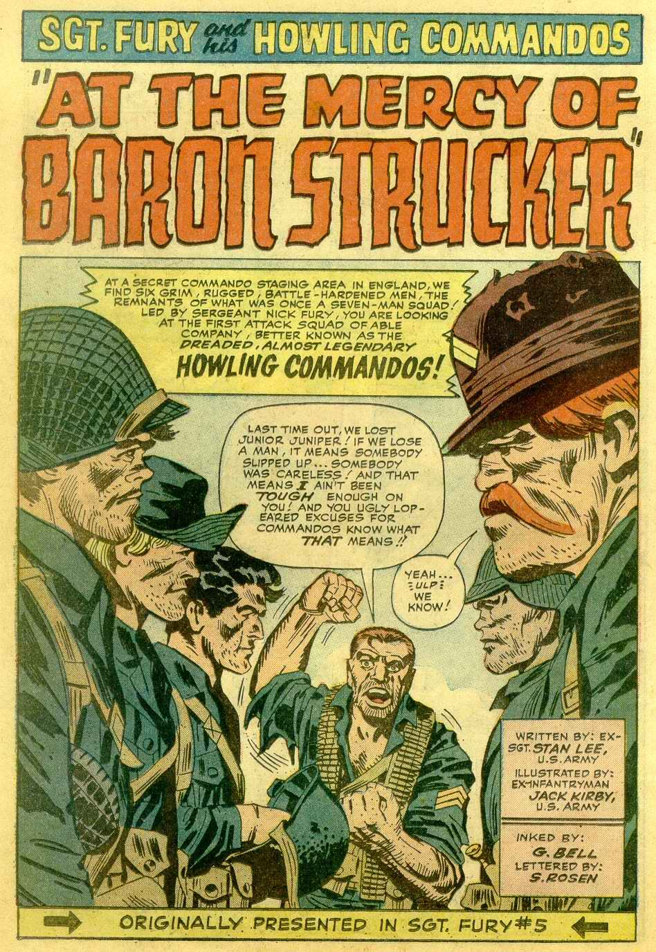 Read online Sgt. Fury comic -  Issue # _Annual 1 - 48