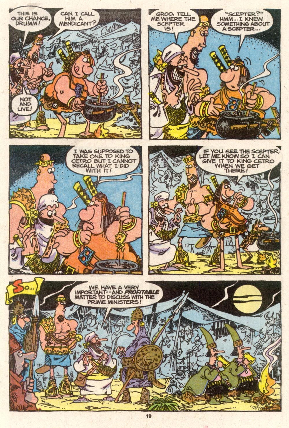 Read online Sergio Aragonés Groo the Wanderer comic -  Issue #74 - 15