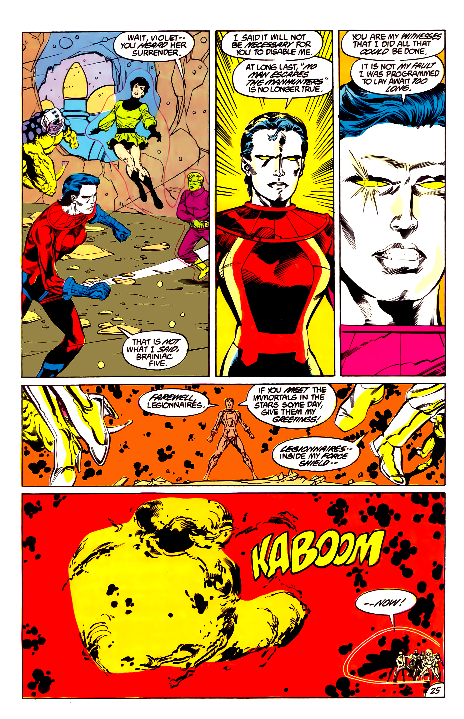 Legion of Super-Heroes (1984) 43 Page 25