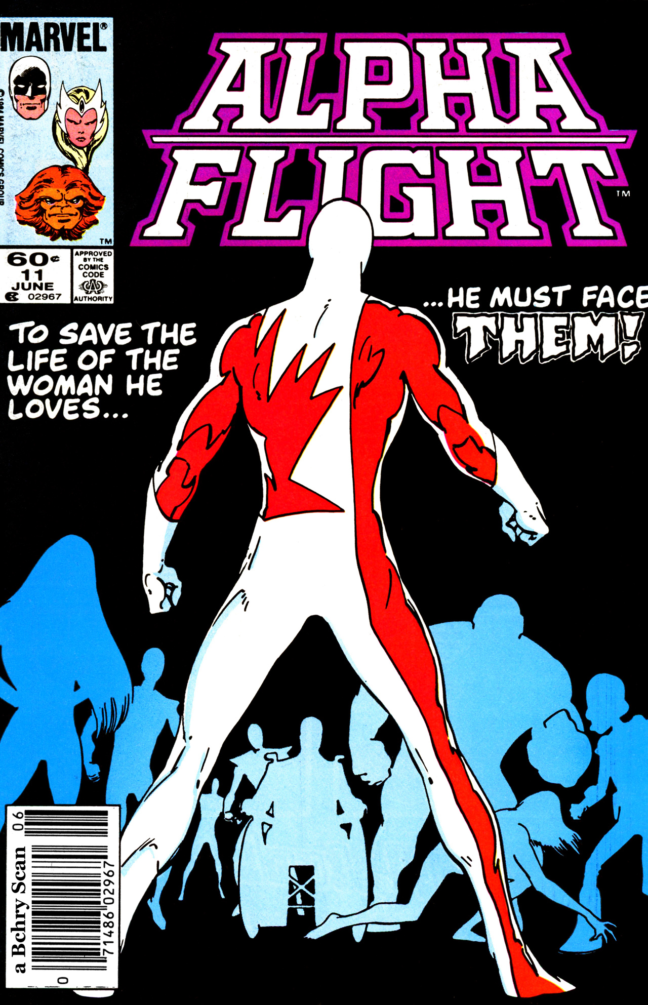 Read online Alpha Flight (1983) comic -  Issue #11 - 1