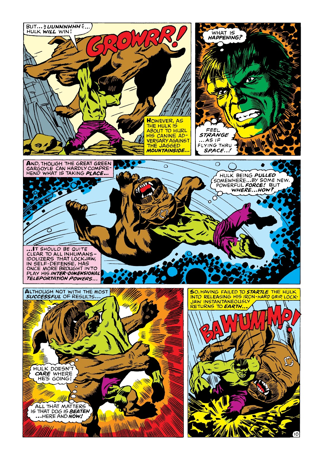 Read online Marvel Masterworks: The Incredible Hulk comic -  Issue # TPB 4 (Part 2) - 43