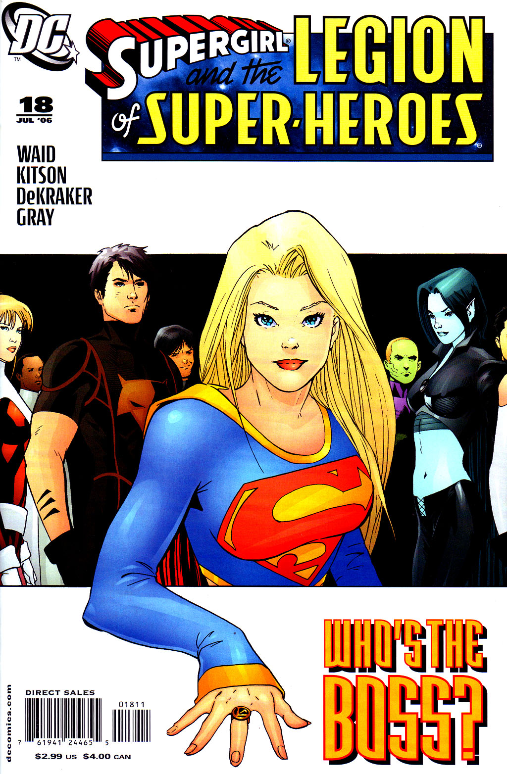 Supergirl and the Legion of Super-Heroes issue 18 - Page 1