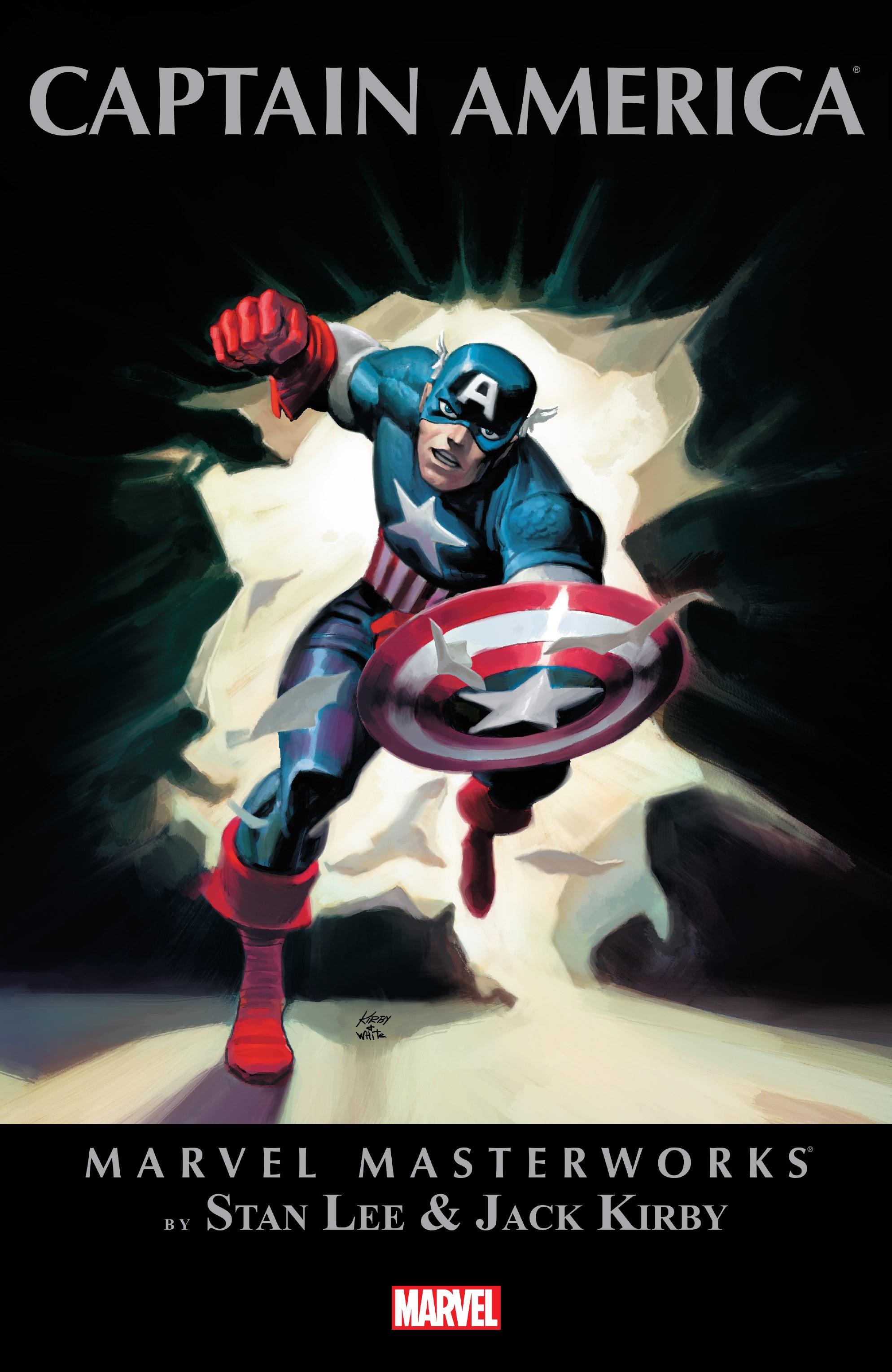 Marvel Masterworks: Captain America TPB_1_(Part_1) Page 1