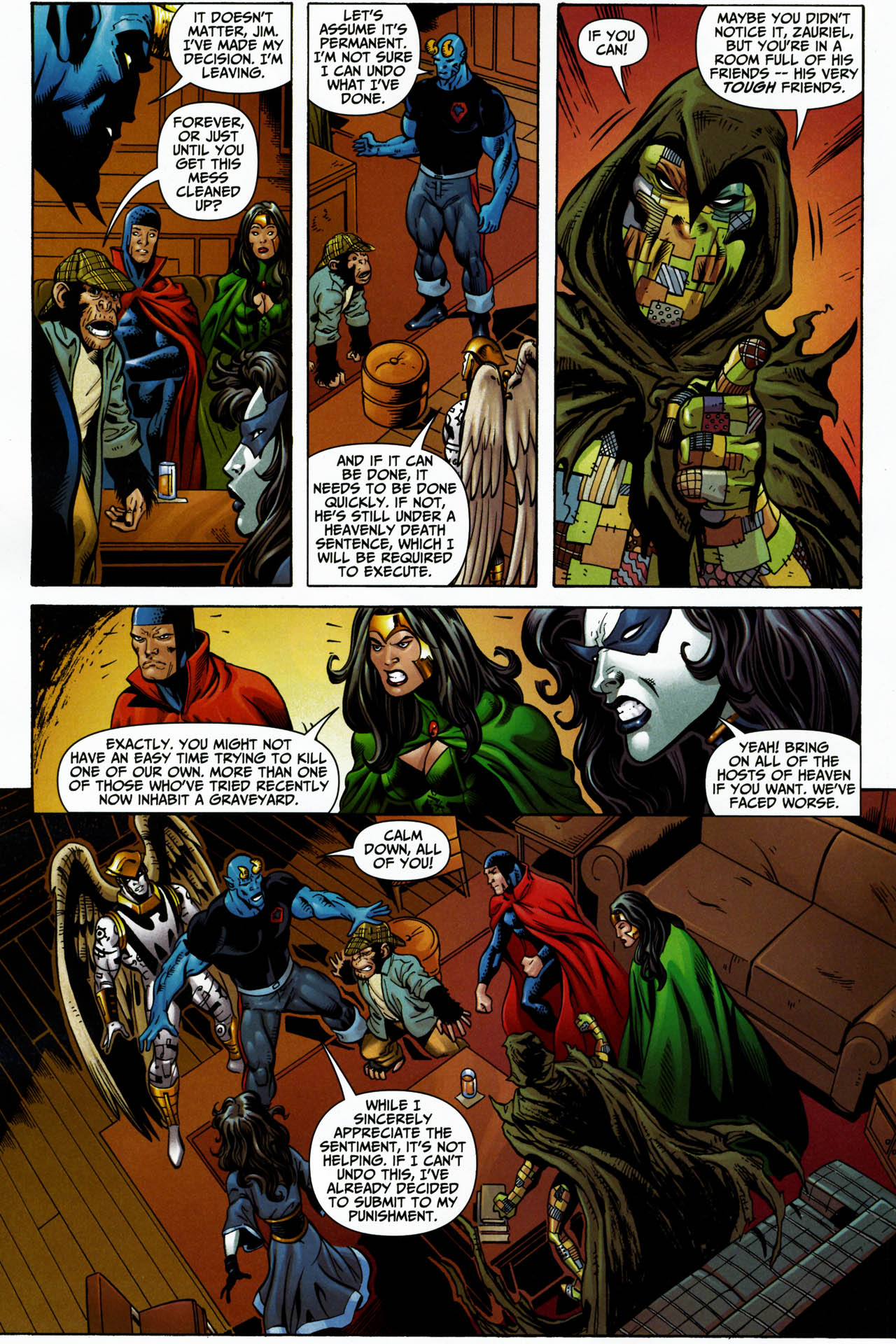 Read online Shadowpact comic -  Issue #14 - 21