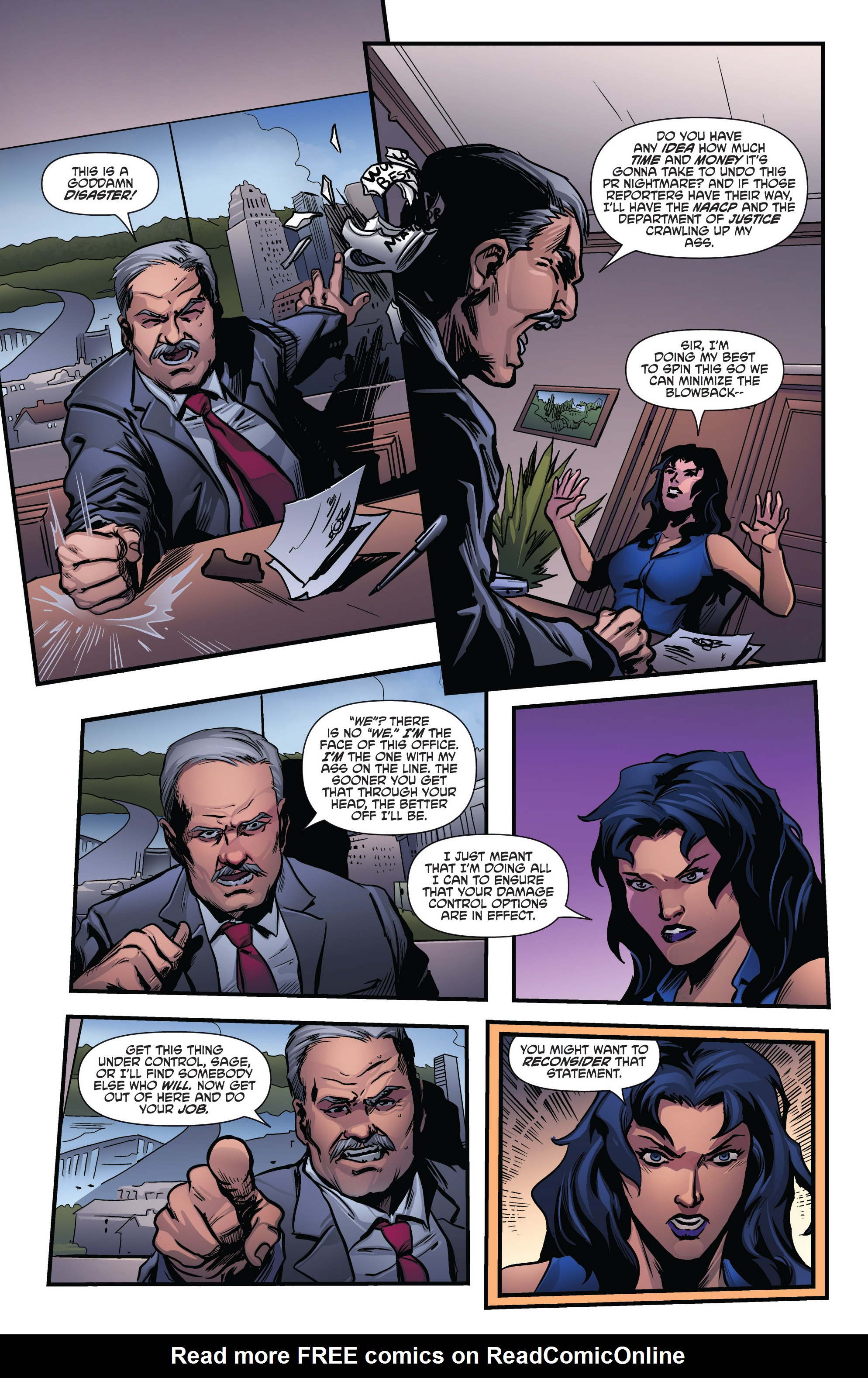 Read online Grimm Fairy Tales presents Goddess Inc. comic -  Issue #4 - 7