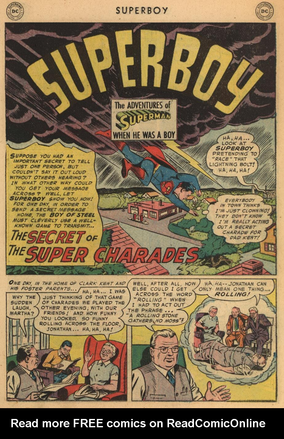 Superboy (1949) issue 45 - Page 10