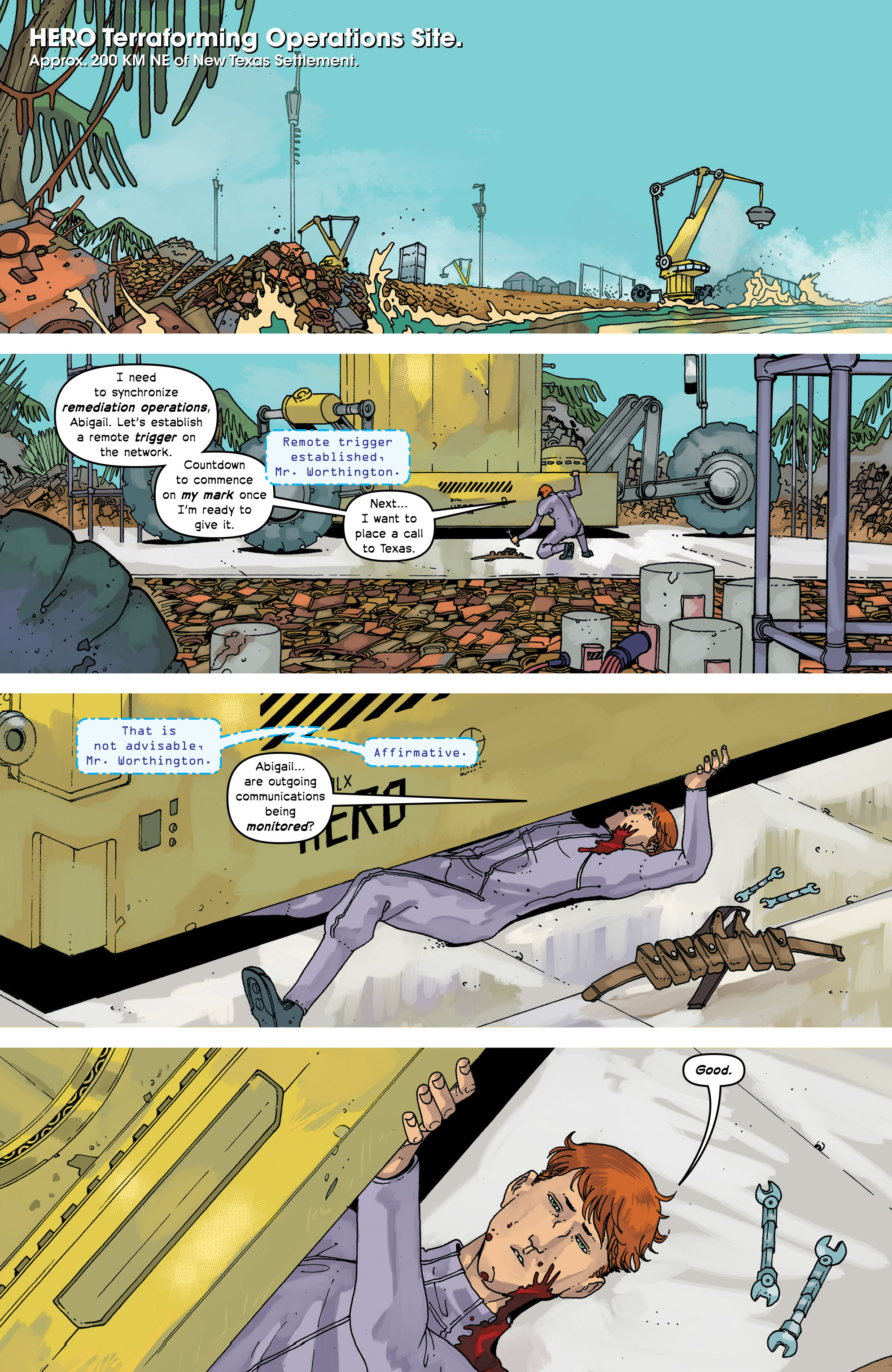 Read online Great Pacific comic -  Issue #17 - 16
