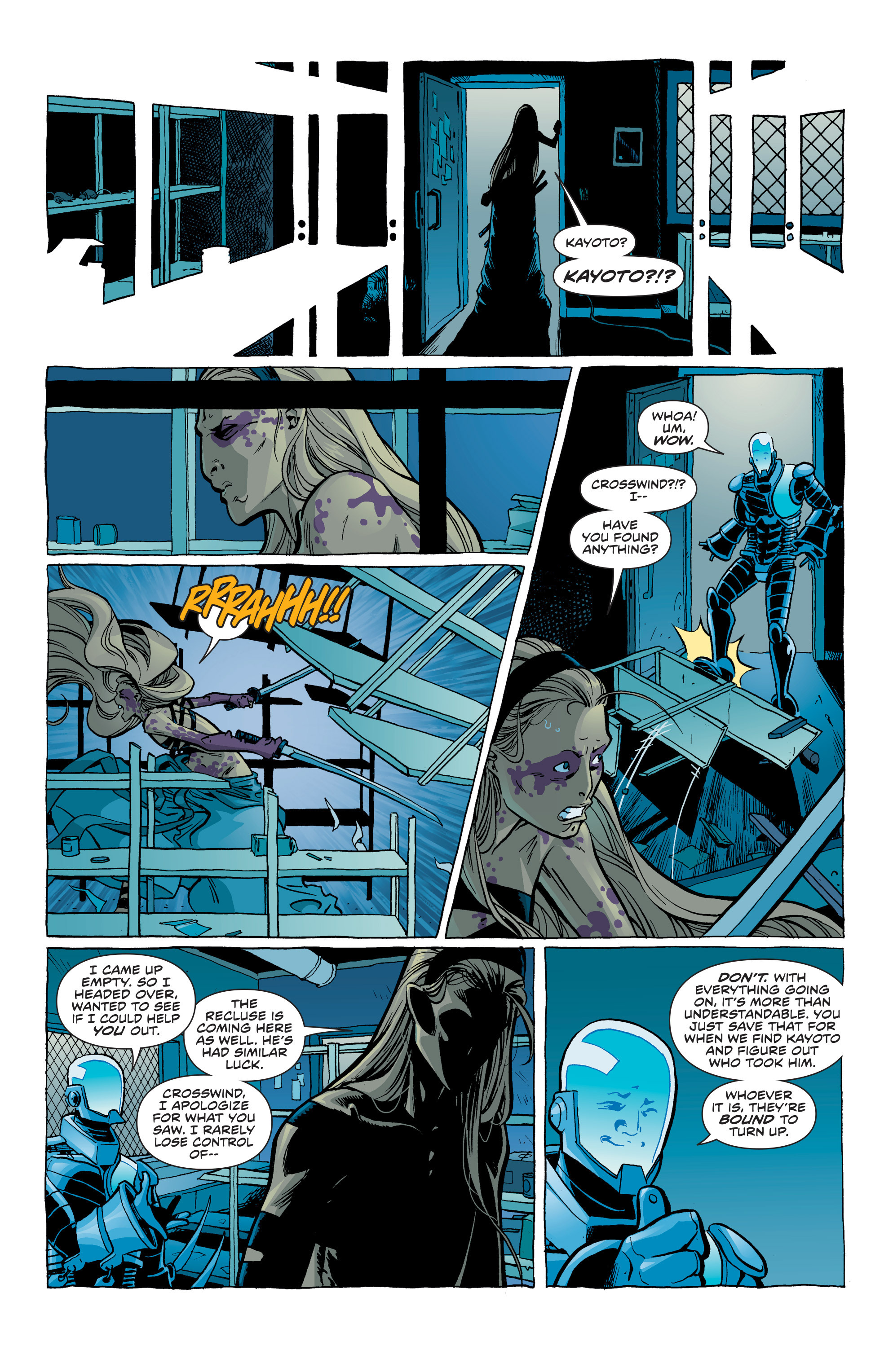 Read online Secret Identities comic -  Issue #6 - 18