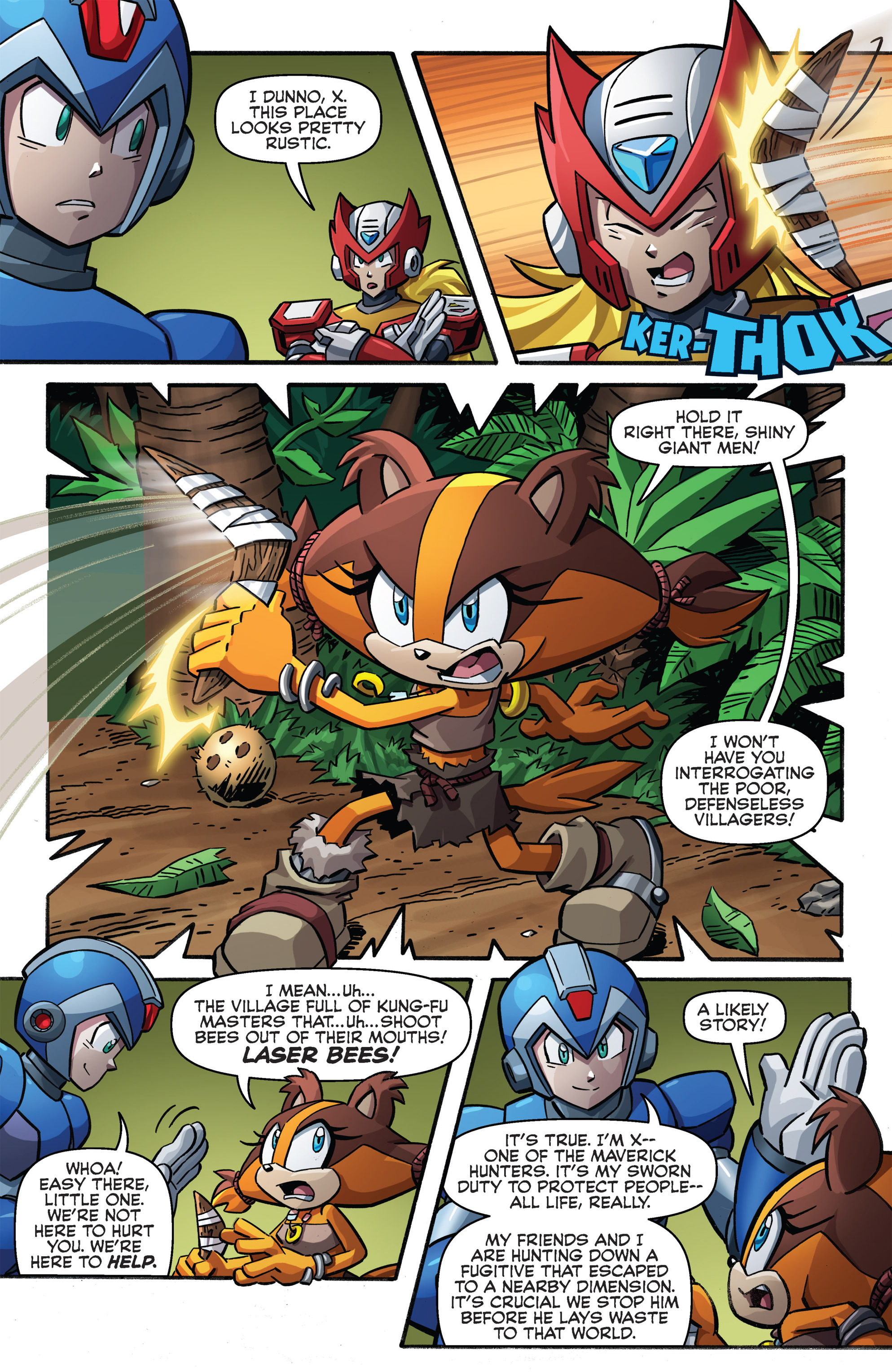 Read online Sonic Boom comic -  Issue #8 - 6