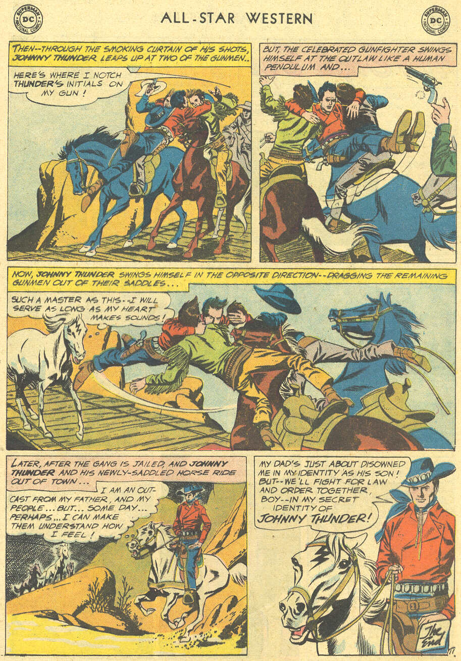 Read online All-Star Western (1951) comic -  Issue #113 - 13