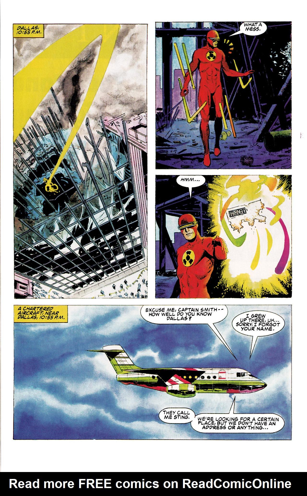 Read online Harbinger (1992) comic -  Issue #5 - 10