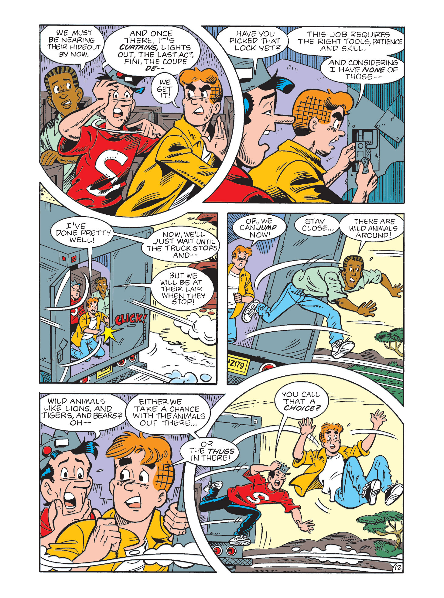 Read online Archie's Funhouse Double Digest comic -  Issue #3 - 48