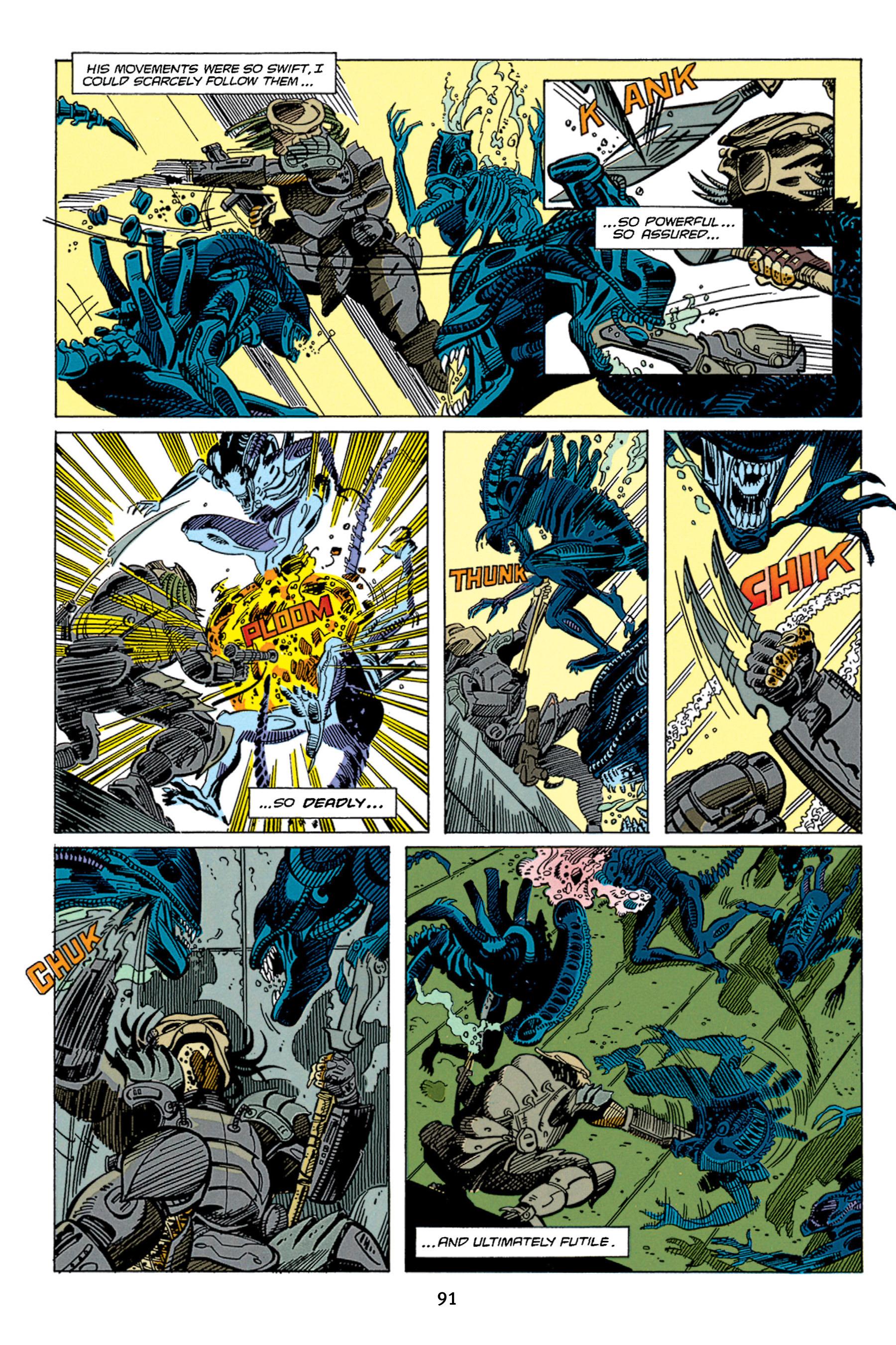 Read online Aliens vs. Predator Omnibus comic -  Issue # _TPB 1 Part 1 - 91