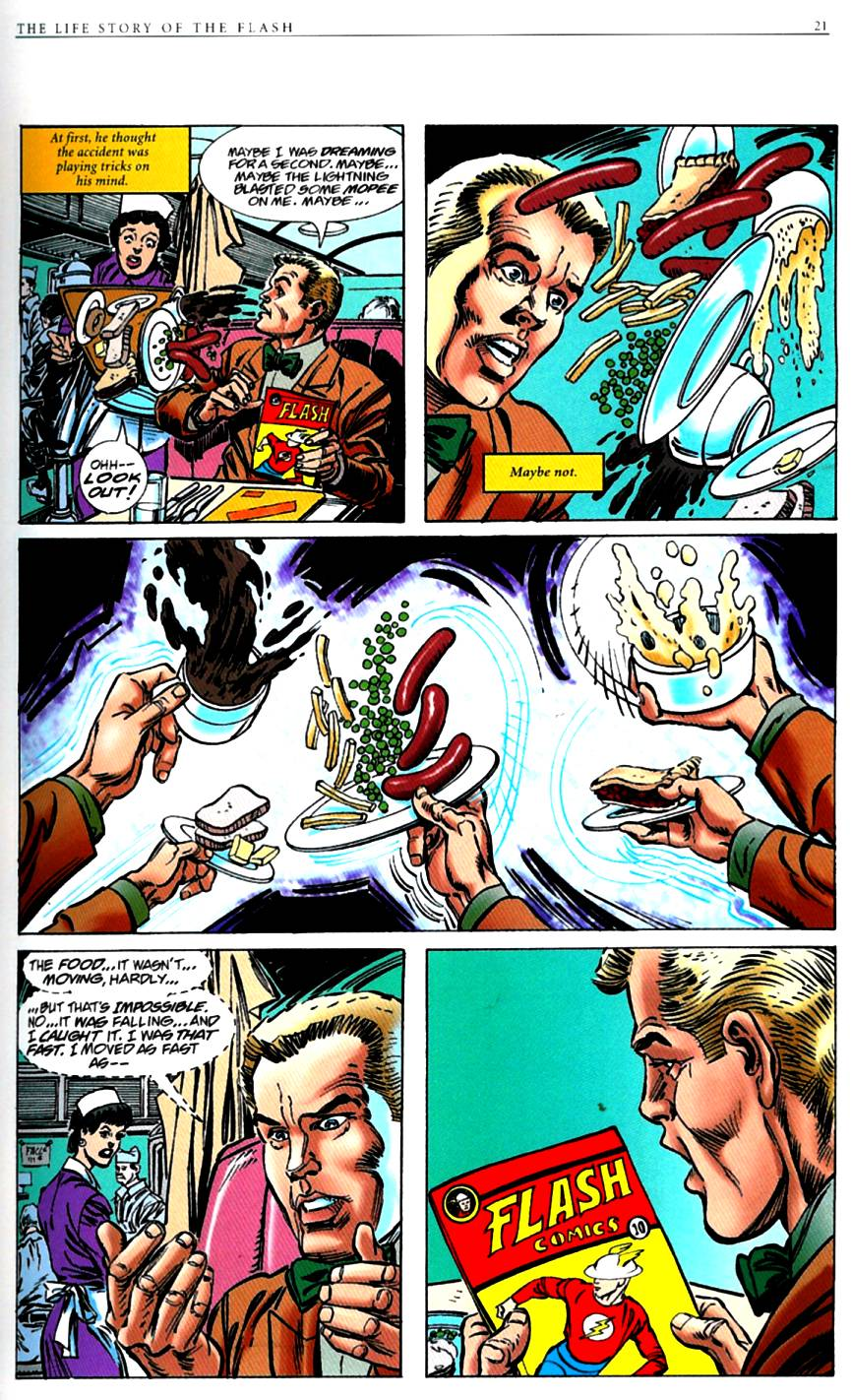 Read online The Life Story of the Flash comic -  Issue # Full - 23