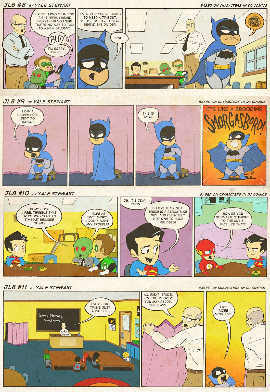 Read online JL8 – The Complete Collection comic -  Issue # TPB (Part 1) - 5