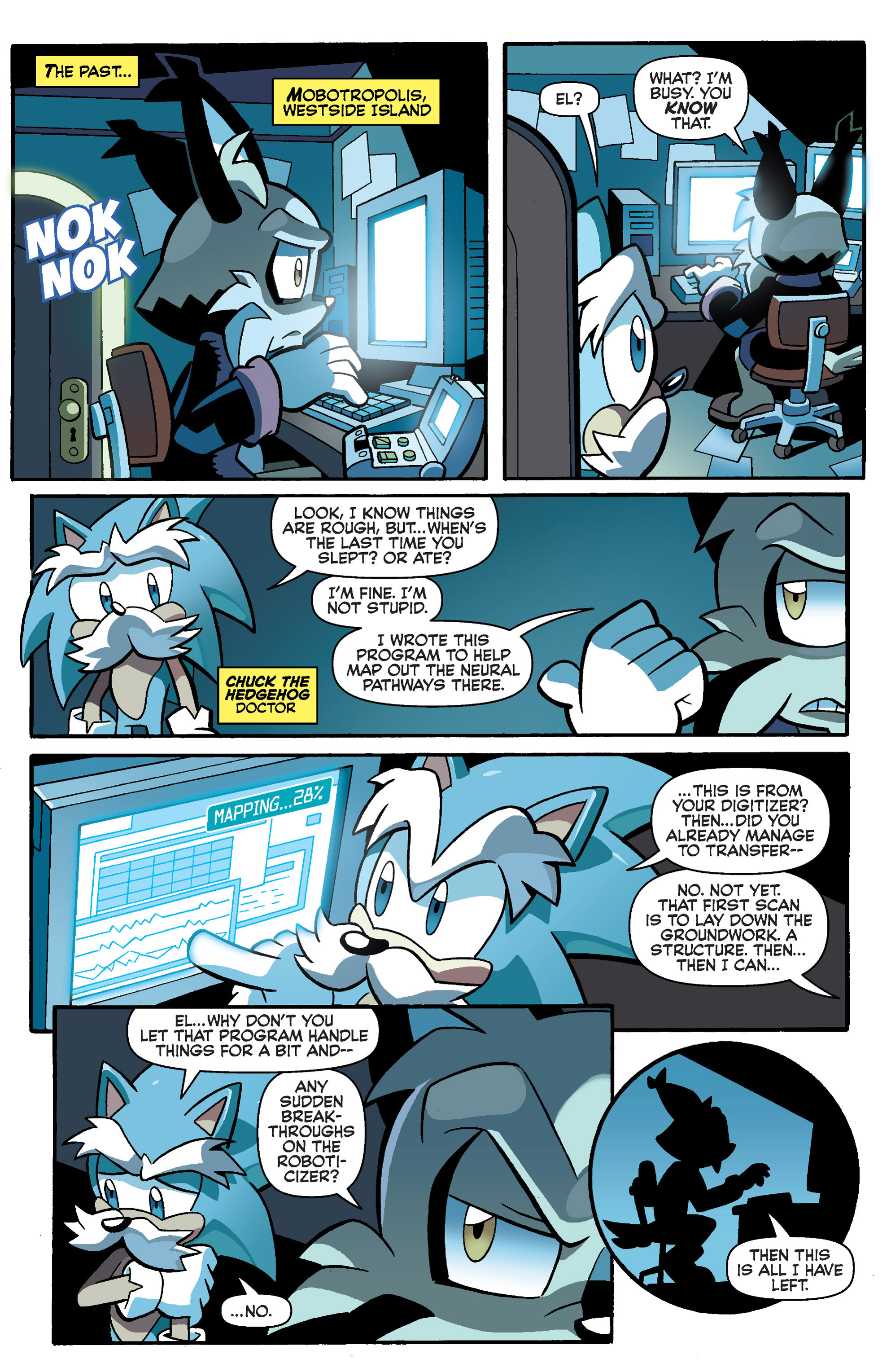 Read online Sonic Universe comic -  Issue #73 - 9