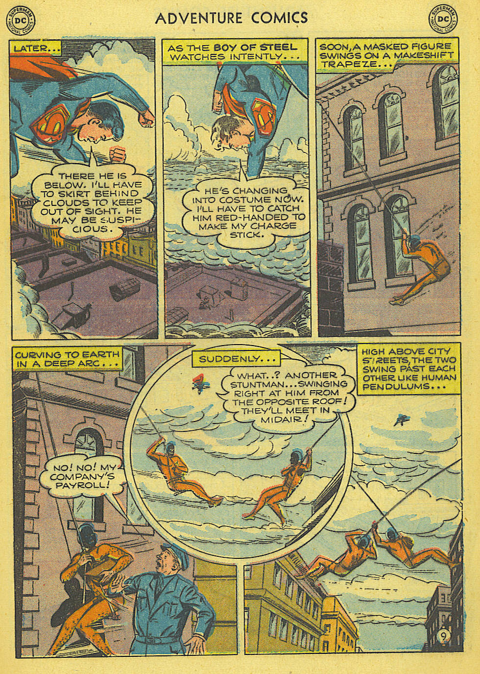 Read online Adventure Comics (1938) comic -  Issue #165 - 10