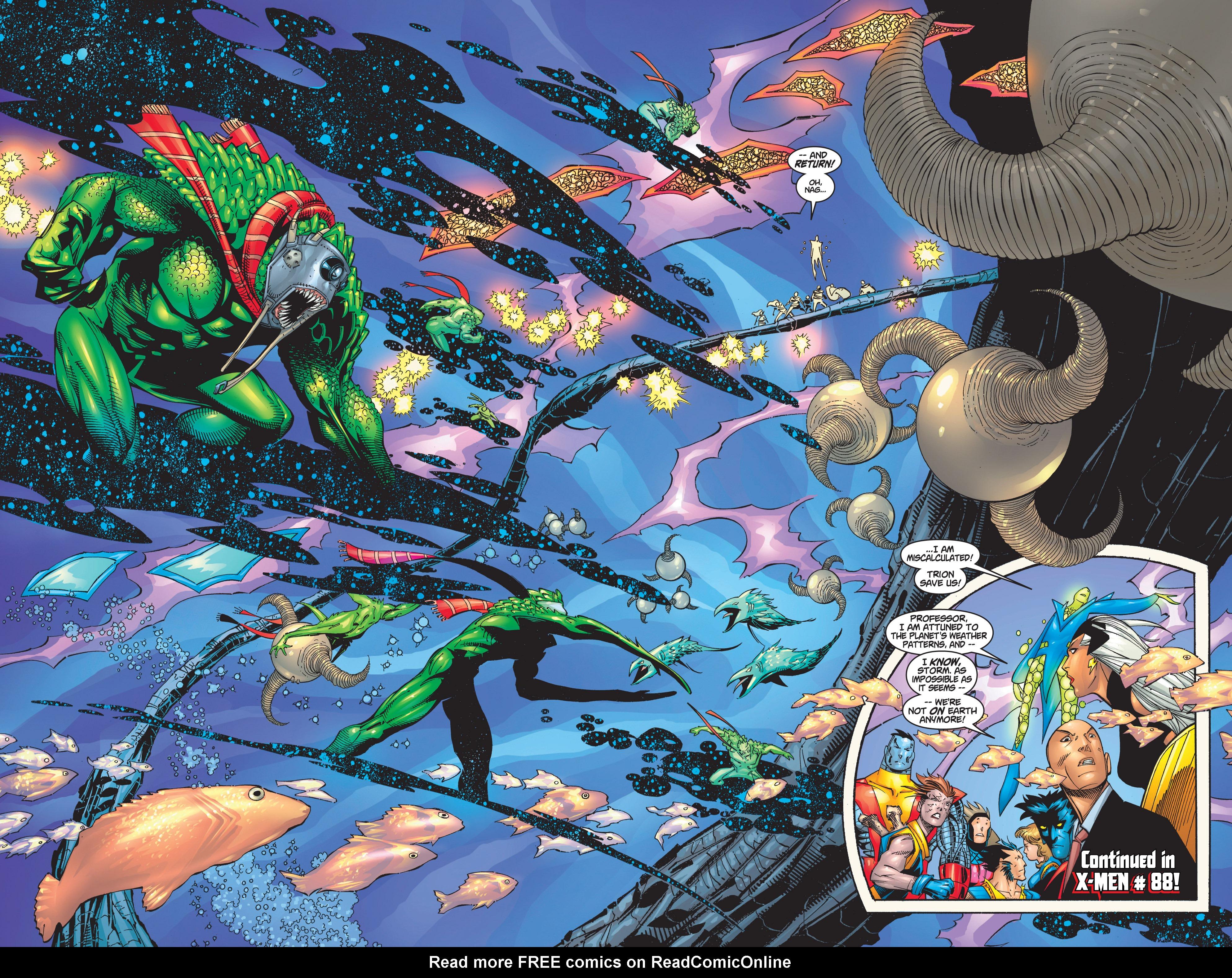 Read online Uncanny X-Men (1963) comic -  Issue #368 - 20
