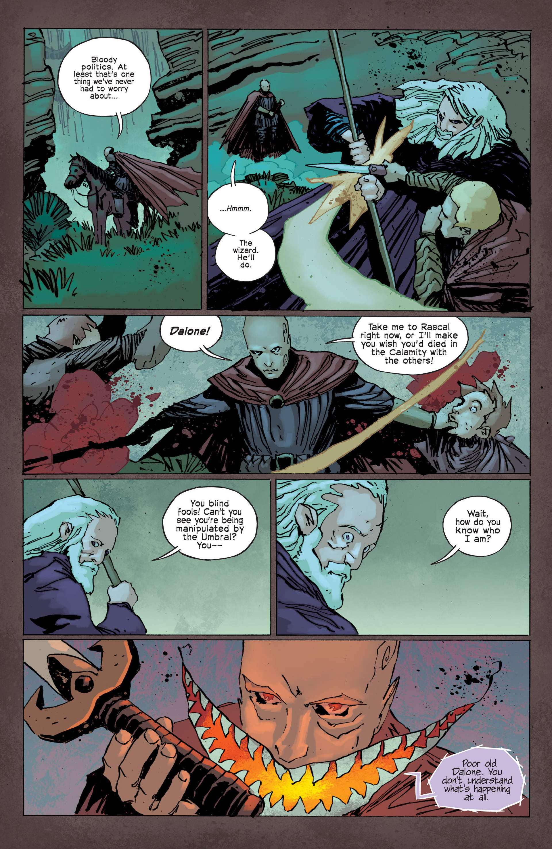 Read online Umbral comic -  Issue #12 - 9