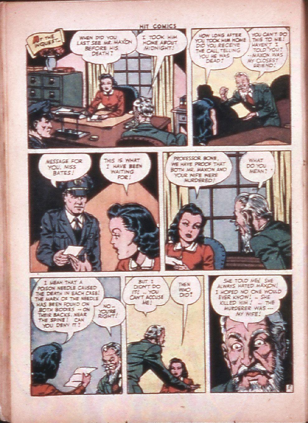 Read online Hit Comics comic -  Issue #33 - 33