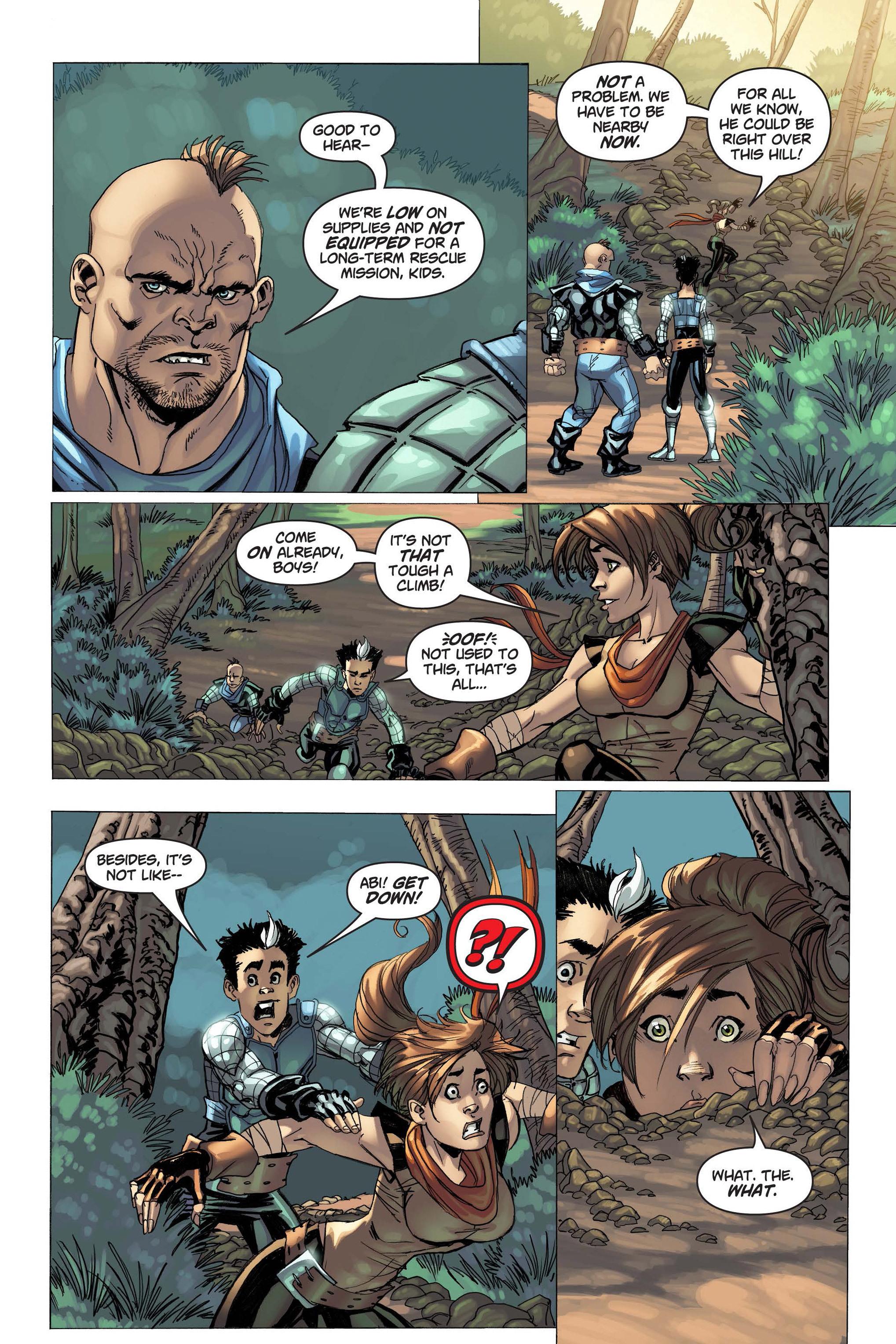 Read online Skyward comic -  Issue #3 - 13