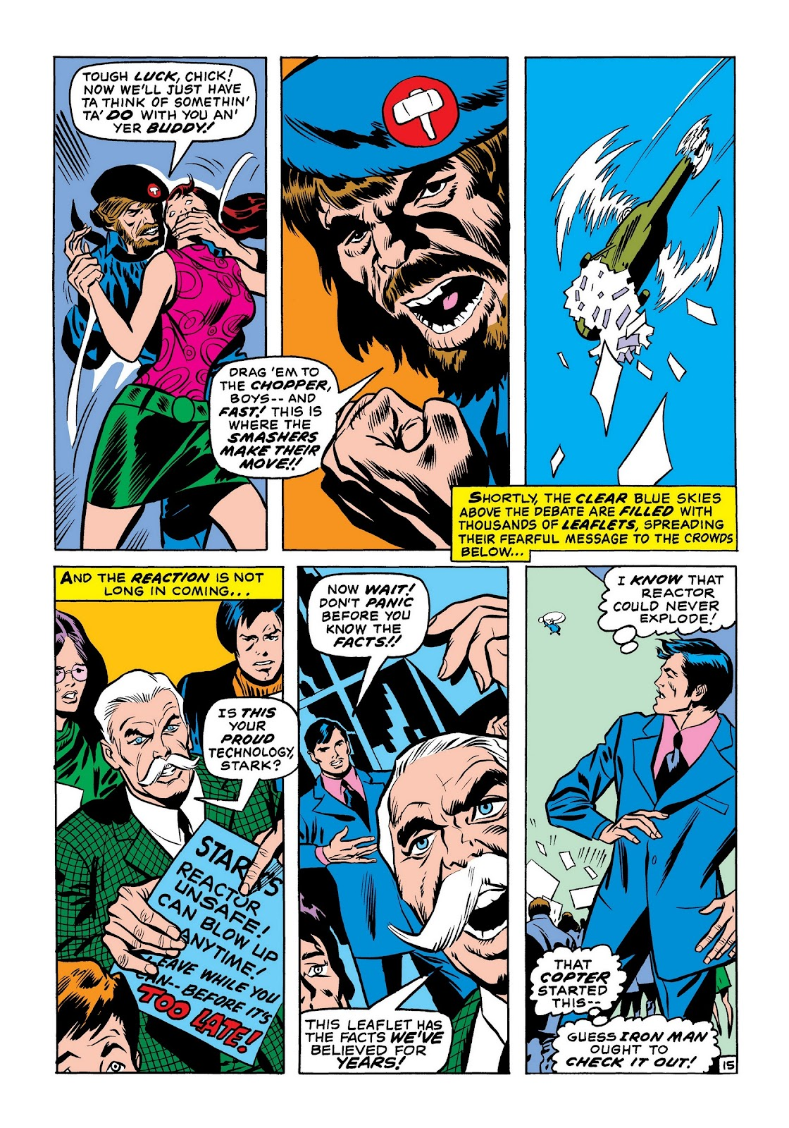 Read online Marvel Masterworks: The Invincible Iron Man comic -  Issue # TPB 7 (Part 2) - 23