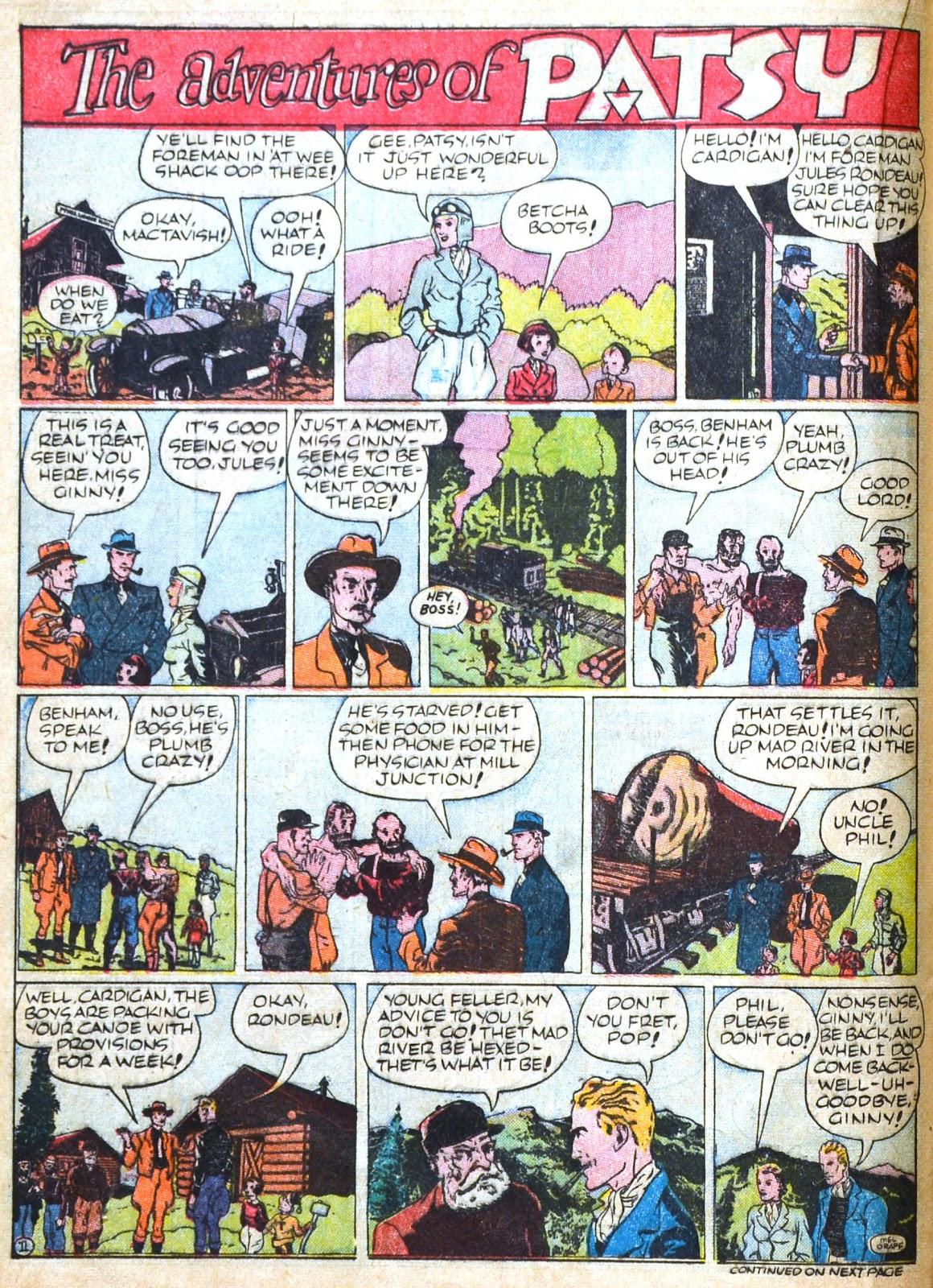 Read online Famous Funnies comic -  Issue #51 - 30