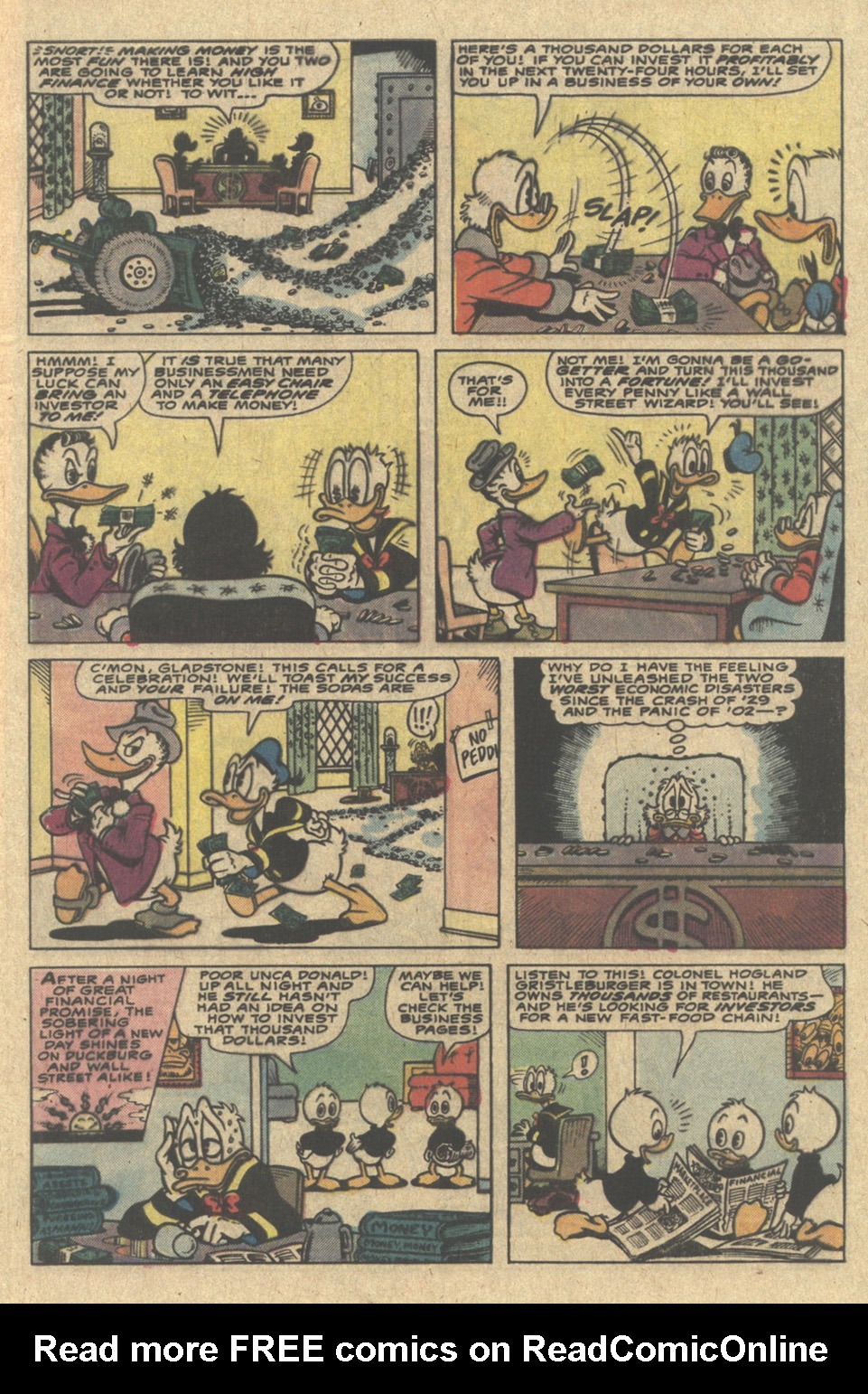 Read online Uncle Scrooge (1953) comic -  Issue #220 - 5