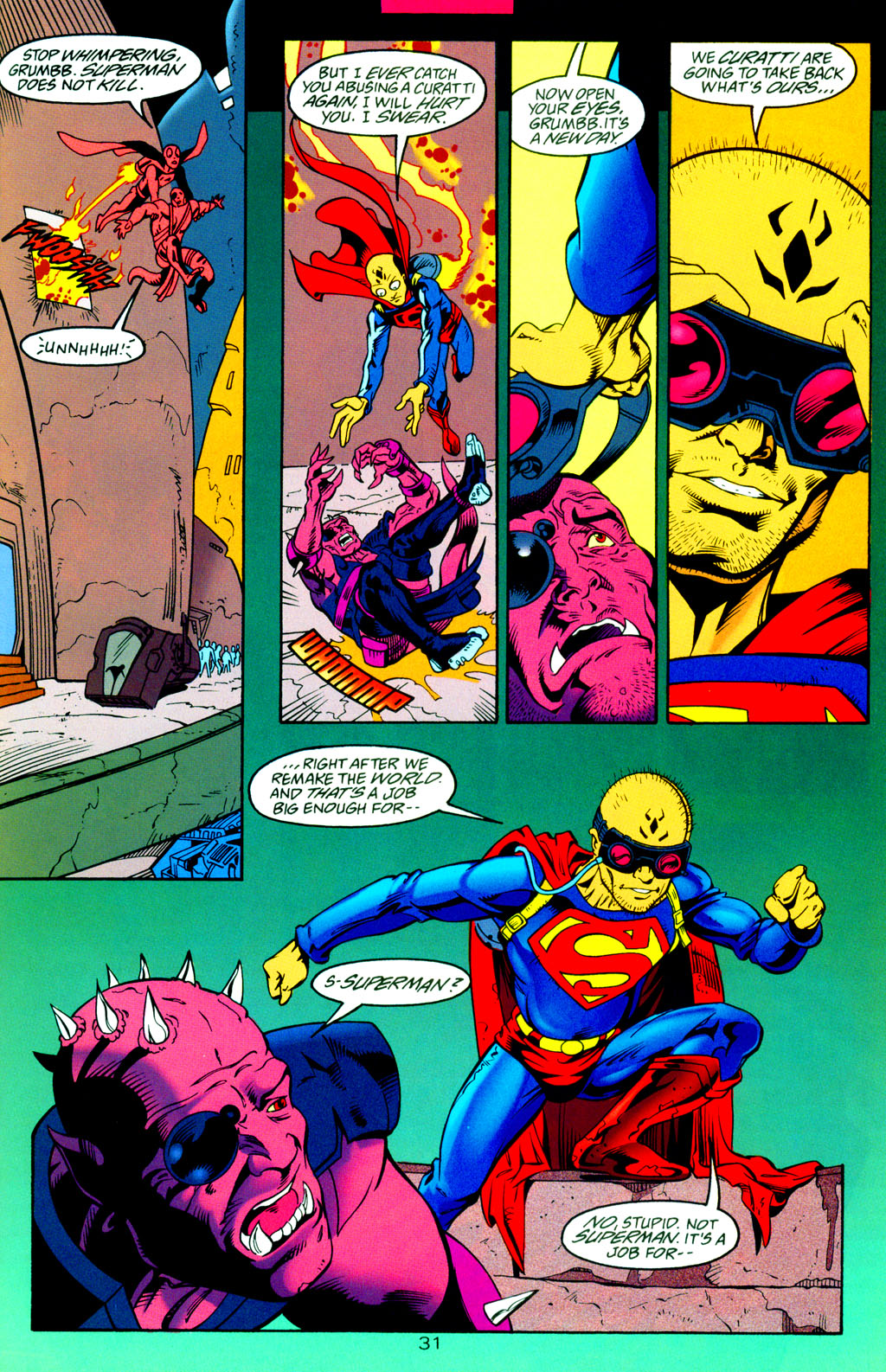 Read online Adventures of Superman (1987) comic -  Issue #Adventures of Superman (1987) _Annual 8 - 33