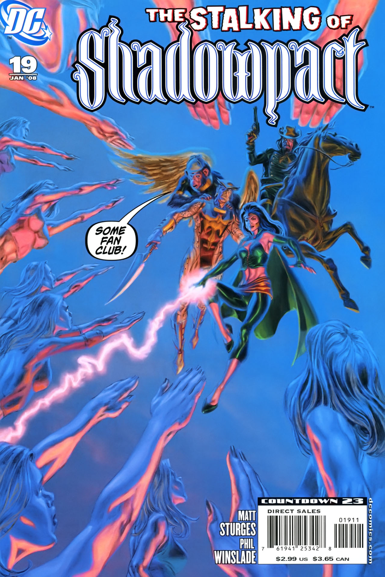 Read online Shadowpact comic -  Issue #19 - 1