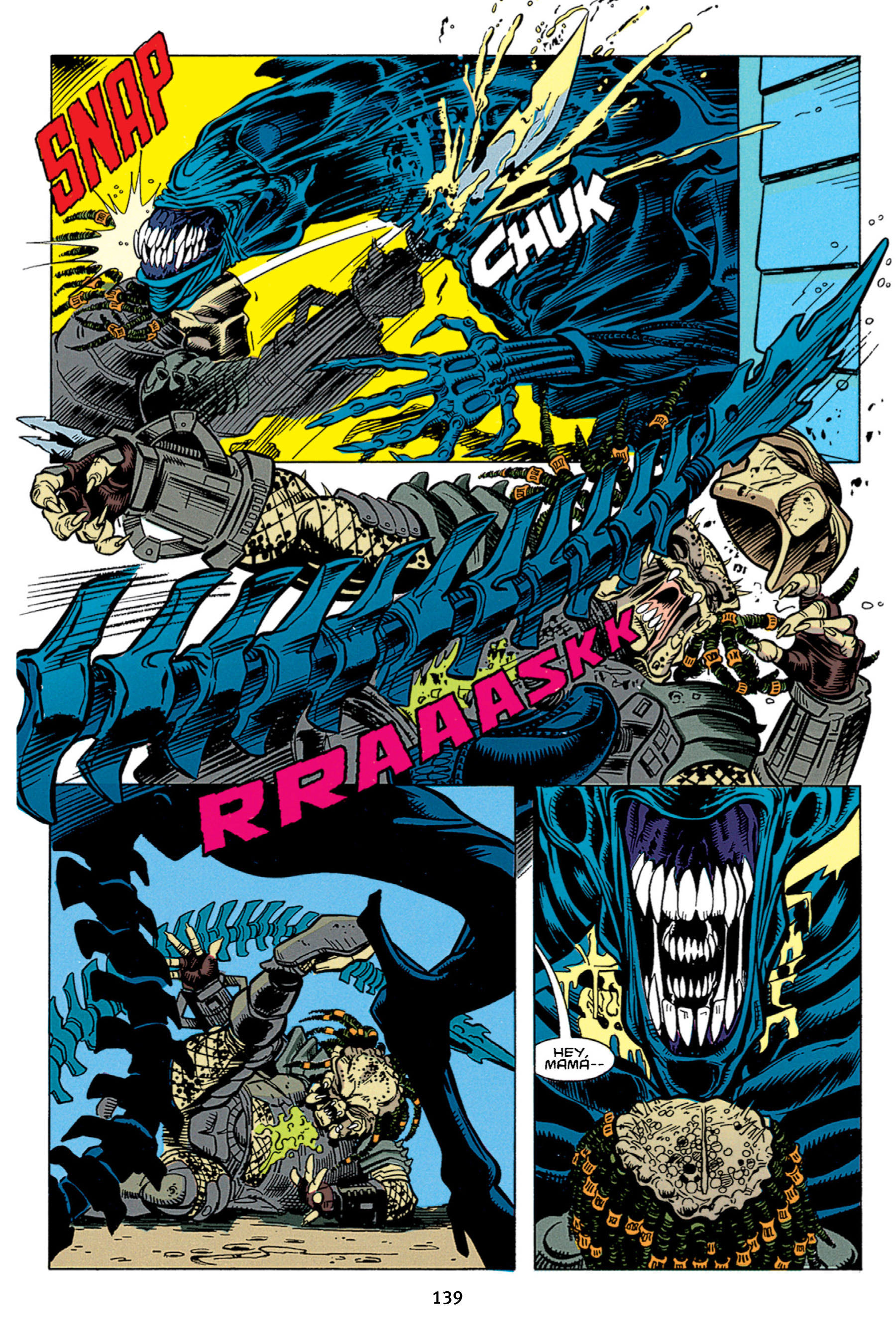 Read online Aliens vs. Predator Omnibus comic -  Issue # _TPB 1 Part 2 - 38