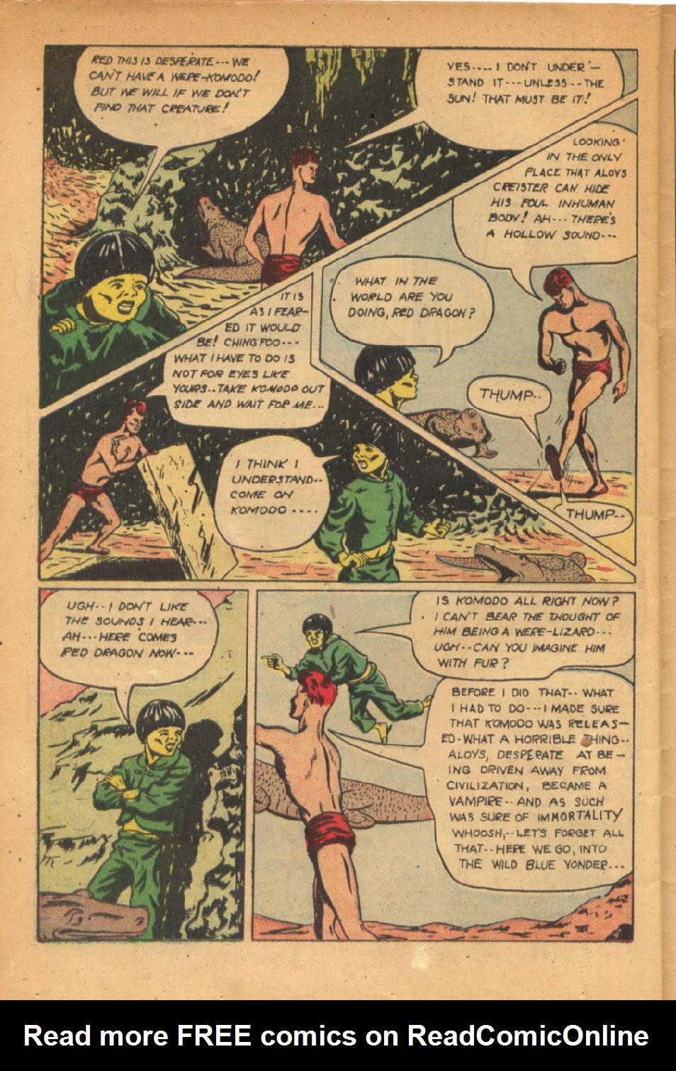 Read online Super-Magician Comics comic -  Issue #54 - 35