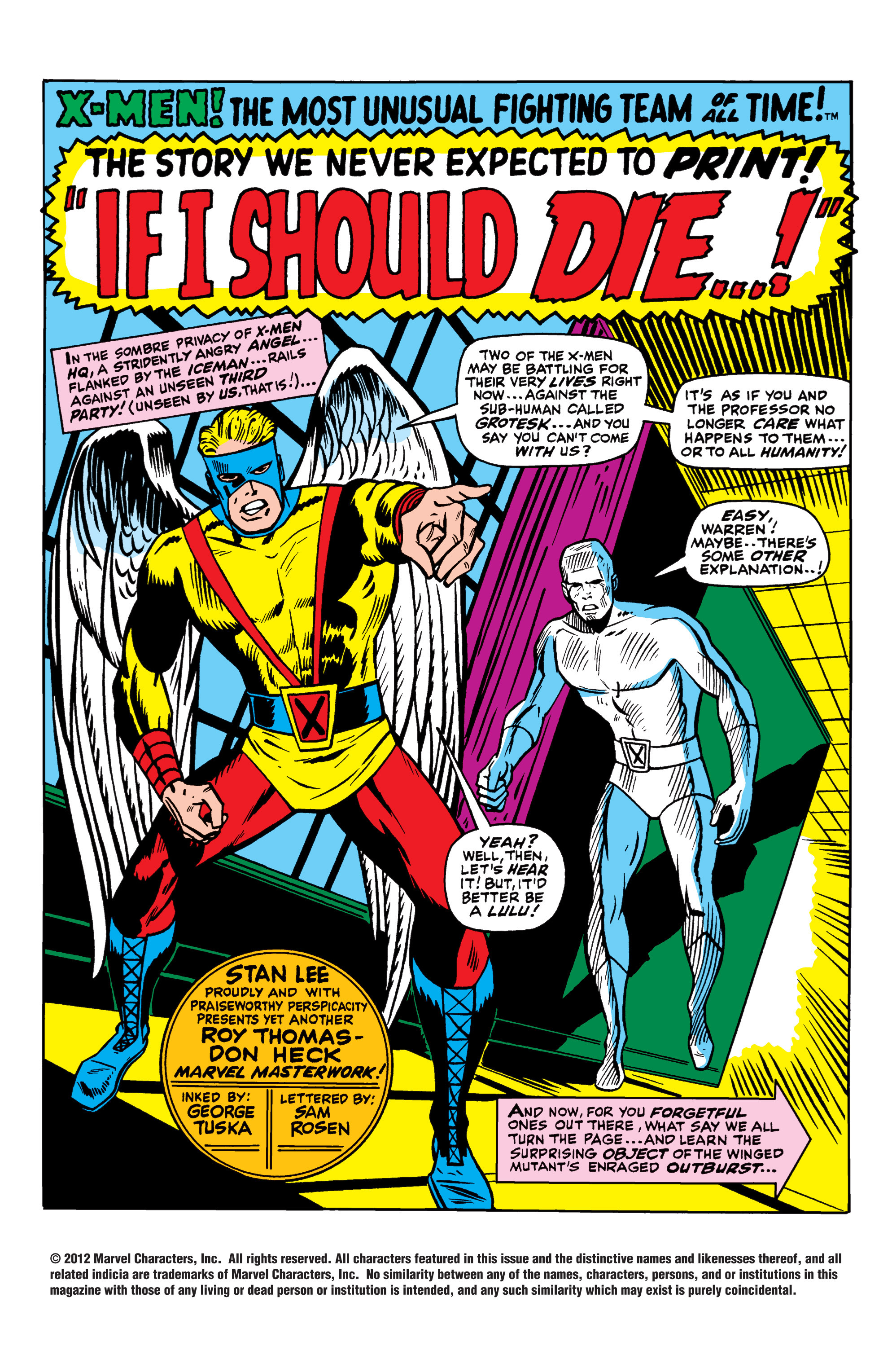 Read online Uncanny X-Men (1963) comic -  Issue #42 - 2
