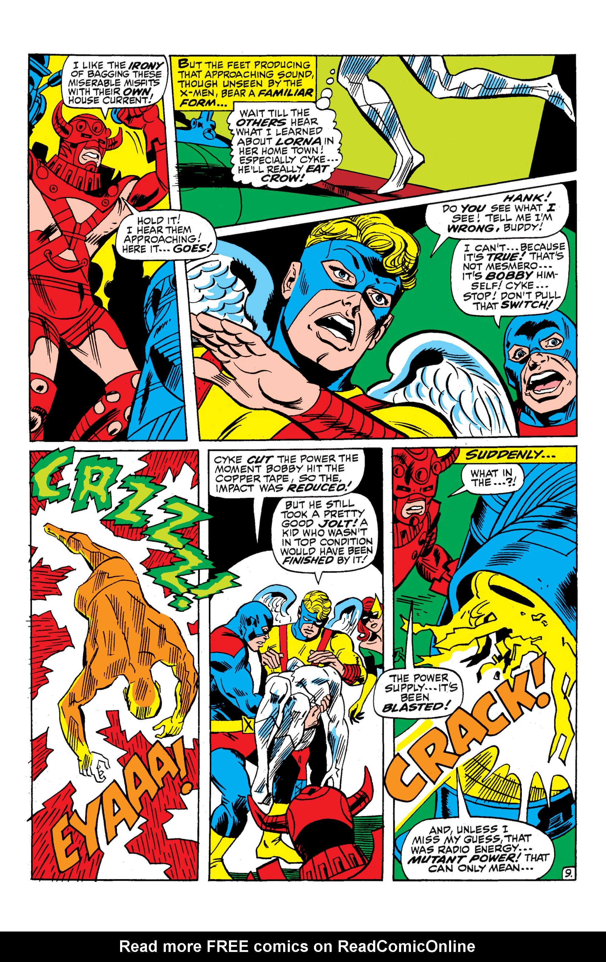 Uncanny X-Men (1963) 52 Page 9