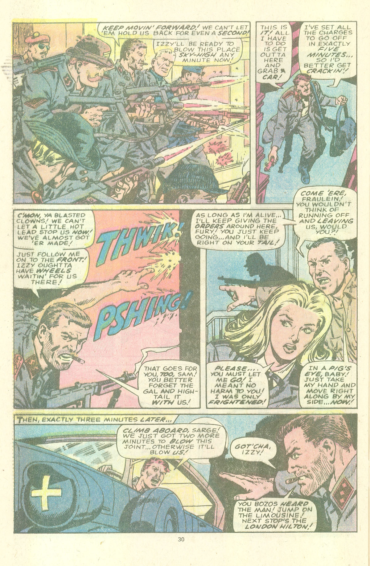 Read online Sgt. Fury comic -  Issue #157 - 32