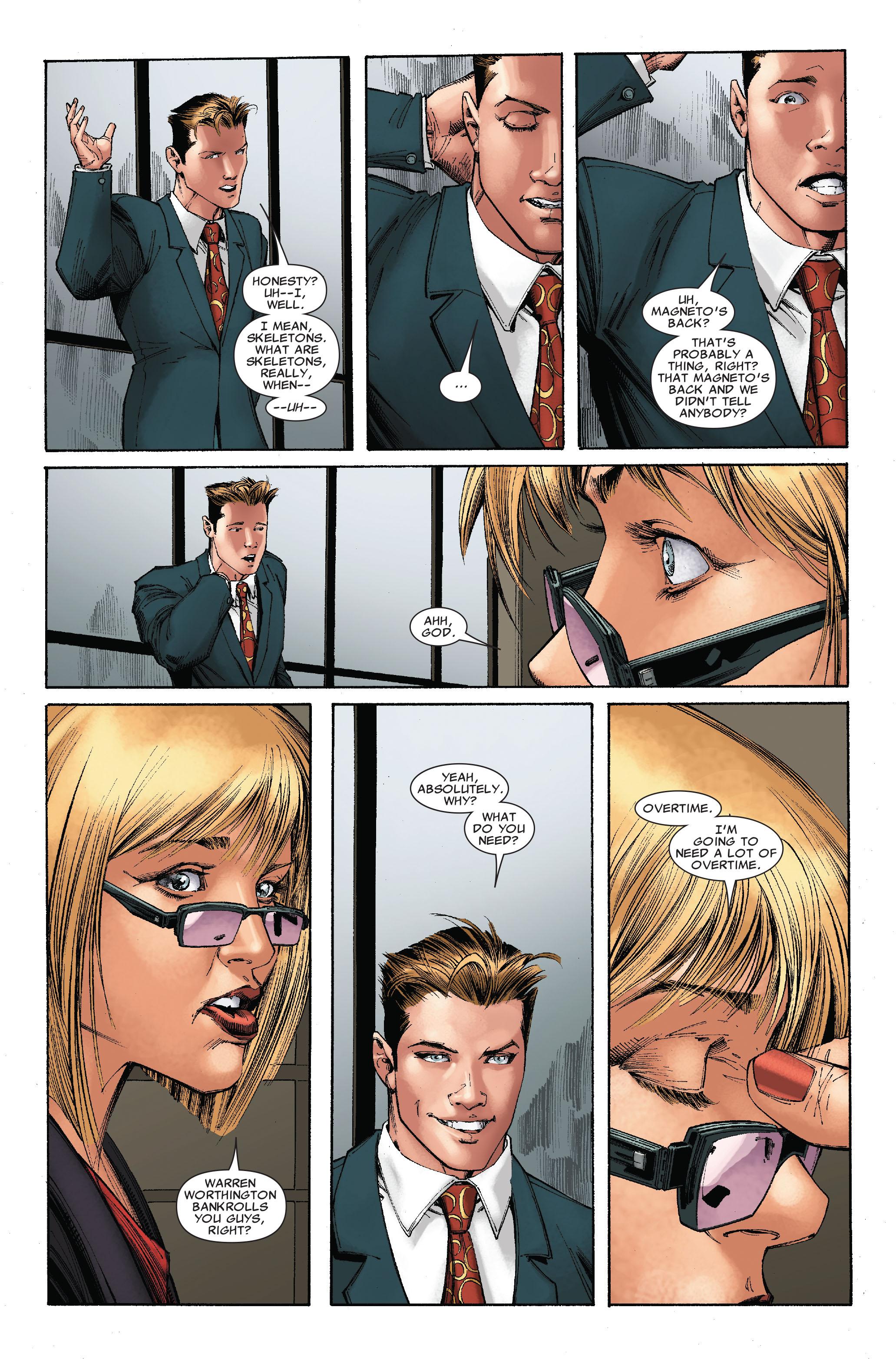 Read online Uncanny X-Men (1963) comic -  Issue #528 - 7
