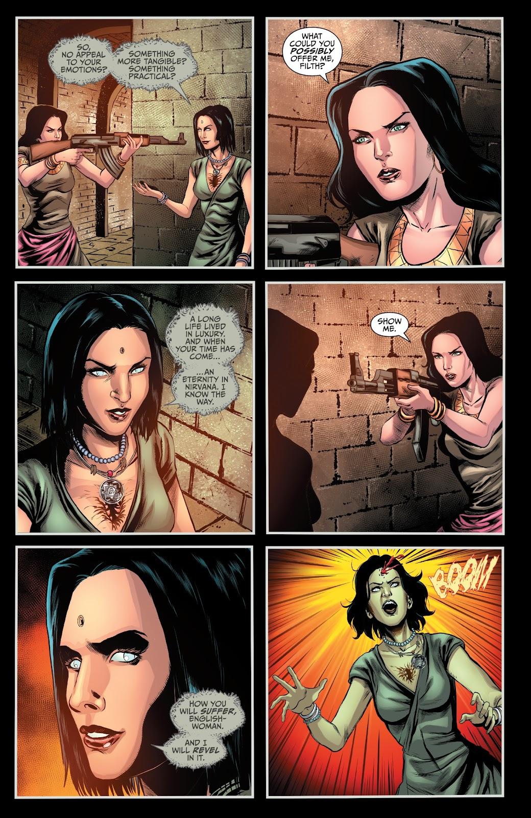 Read online Van Helsing: Sword of Heaven comic -  Issue #6 - 14