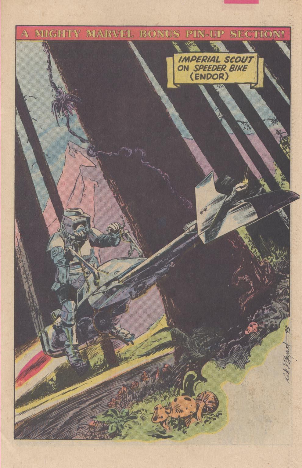 Read online Star Wars: Return of the Jedi comic -  Issue #3 - 21