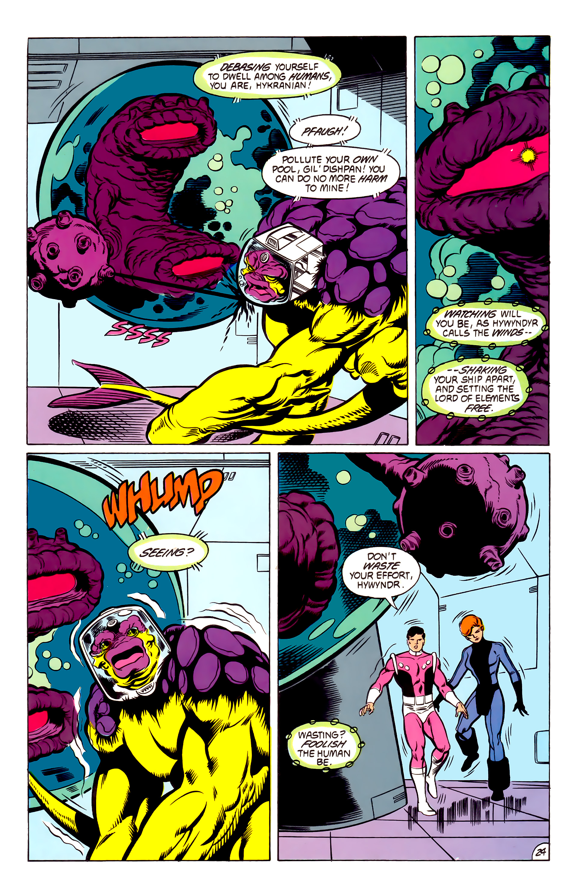 Legion of Super-Heroes (1984) 53 Page 24