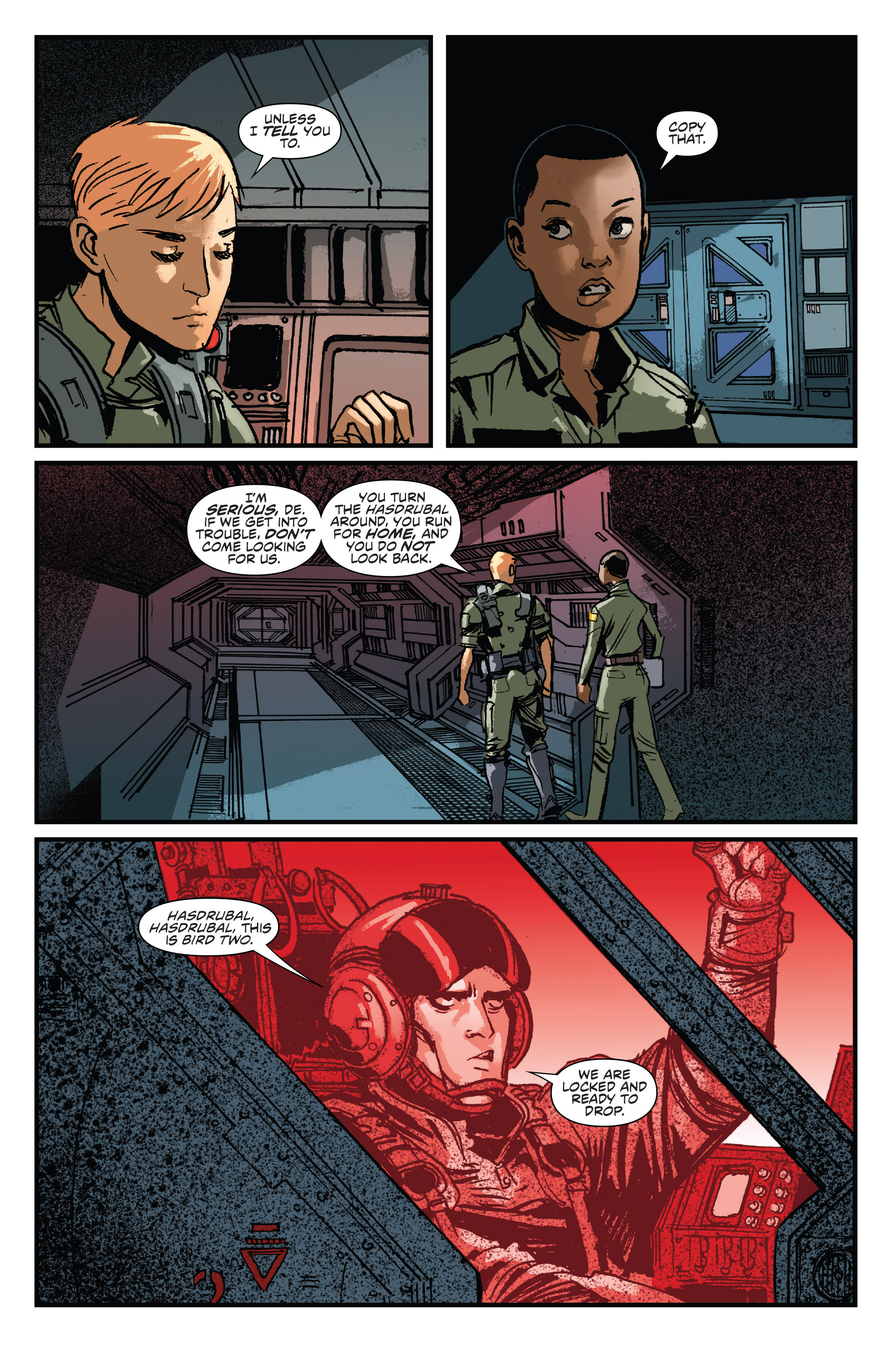 Read online Aliens: Life And Death comic -  Issue #2 - 14