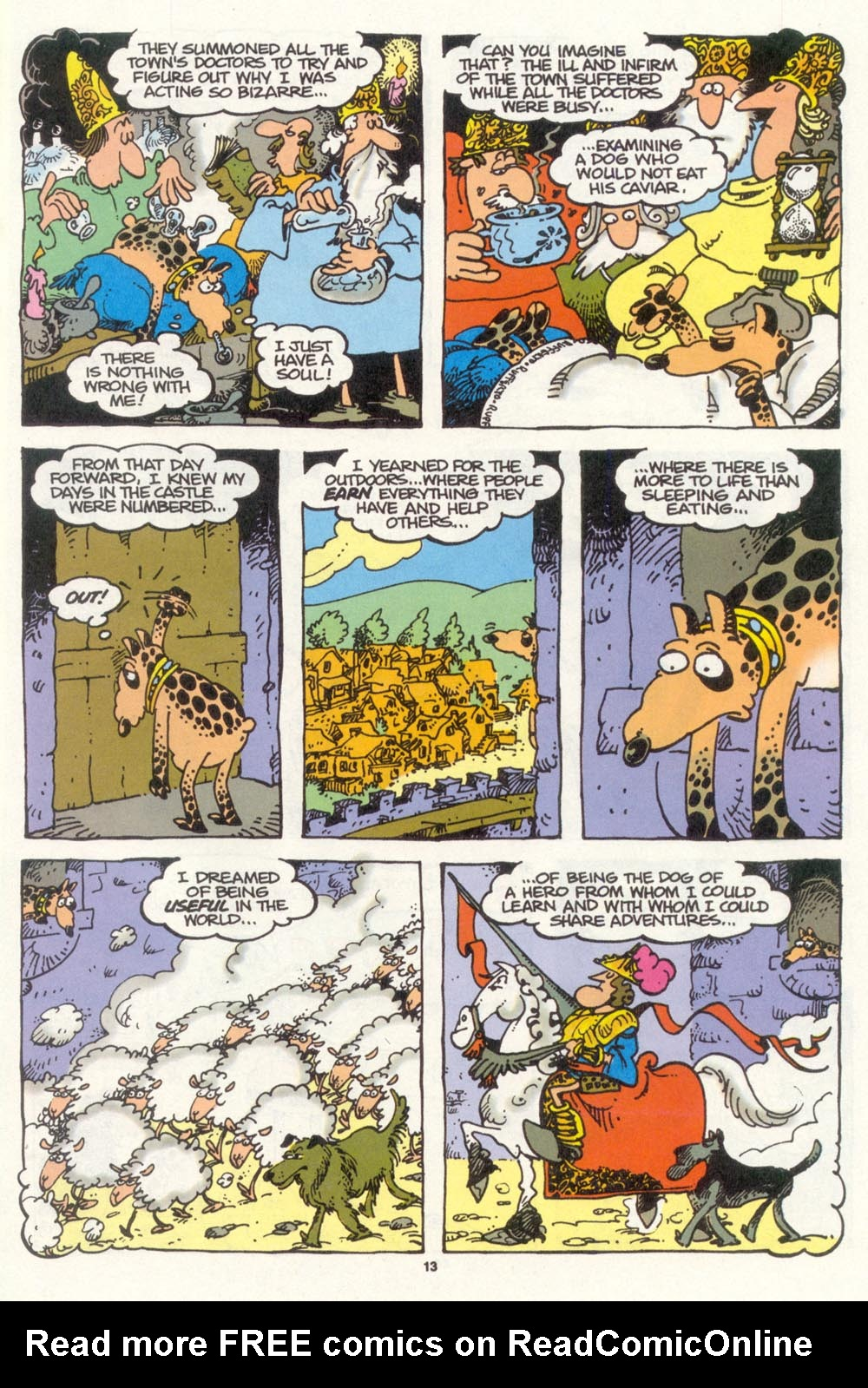 Read online Sergio Aragonés Groo the Wanderer comic -  Issue #104 - 15