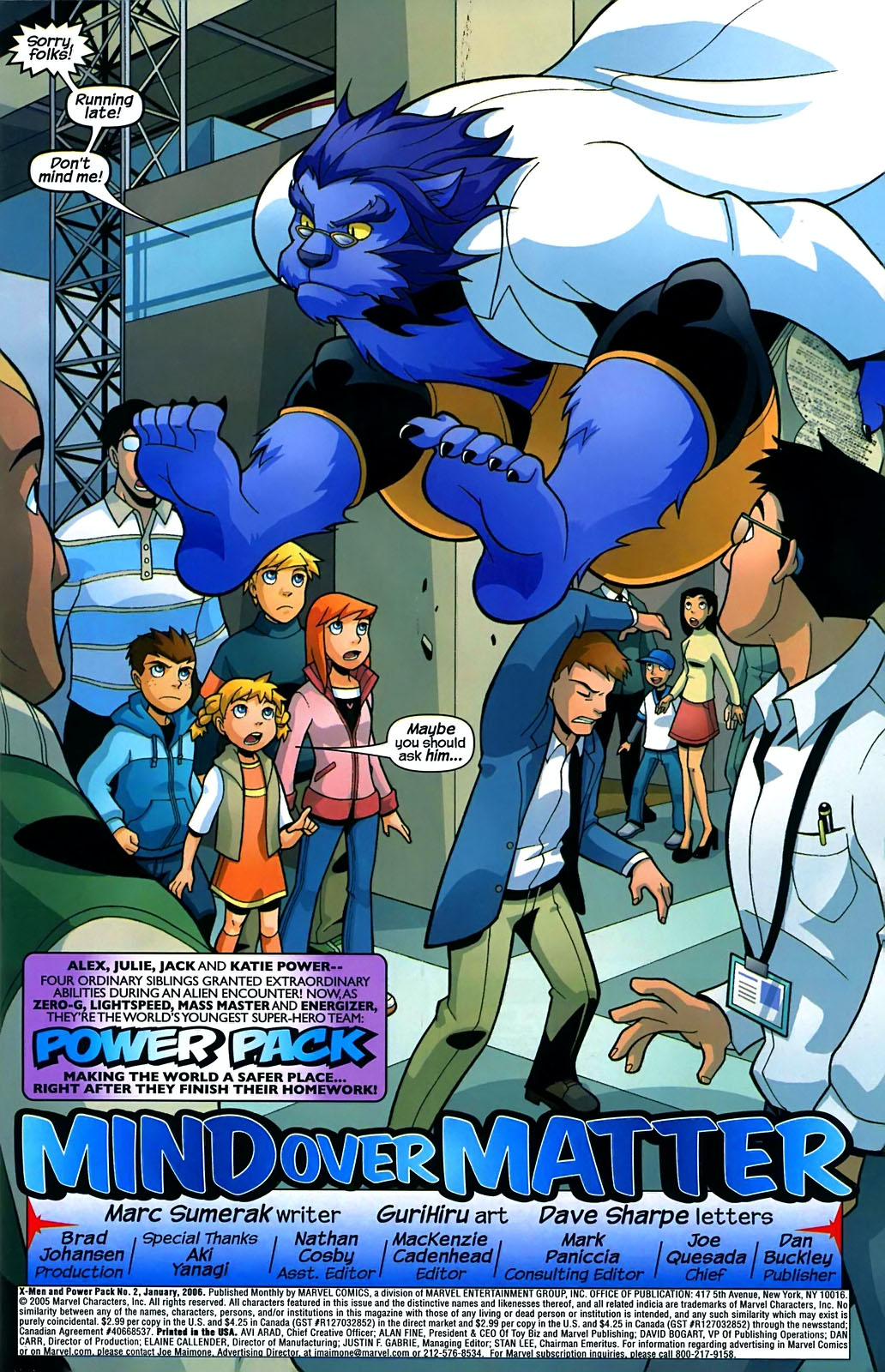 Read online X-Men and Power Pack comic -  Issue #2 - 4