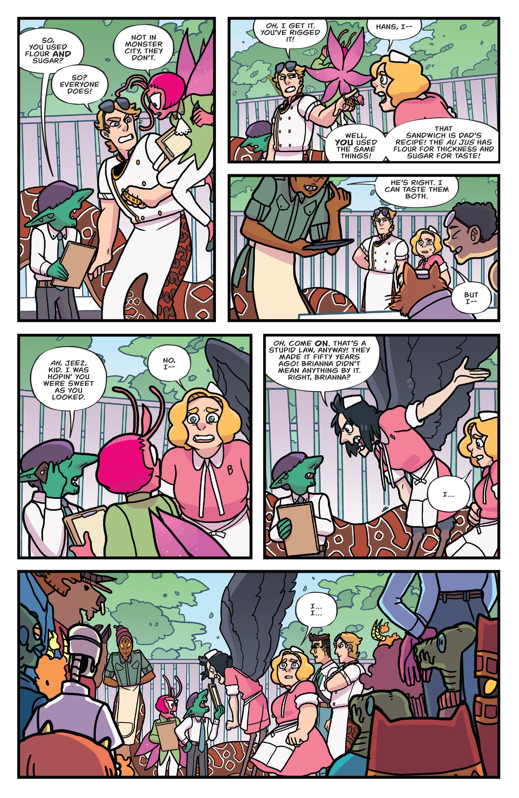 Read online Brave Chef Brianna comic -  Issue #3 - 20
