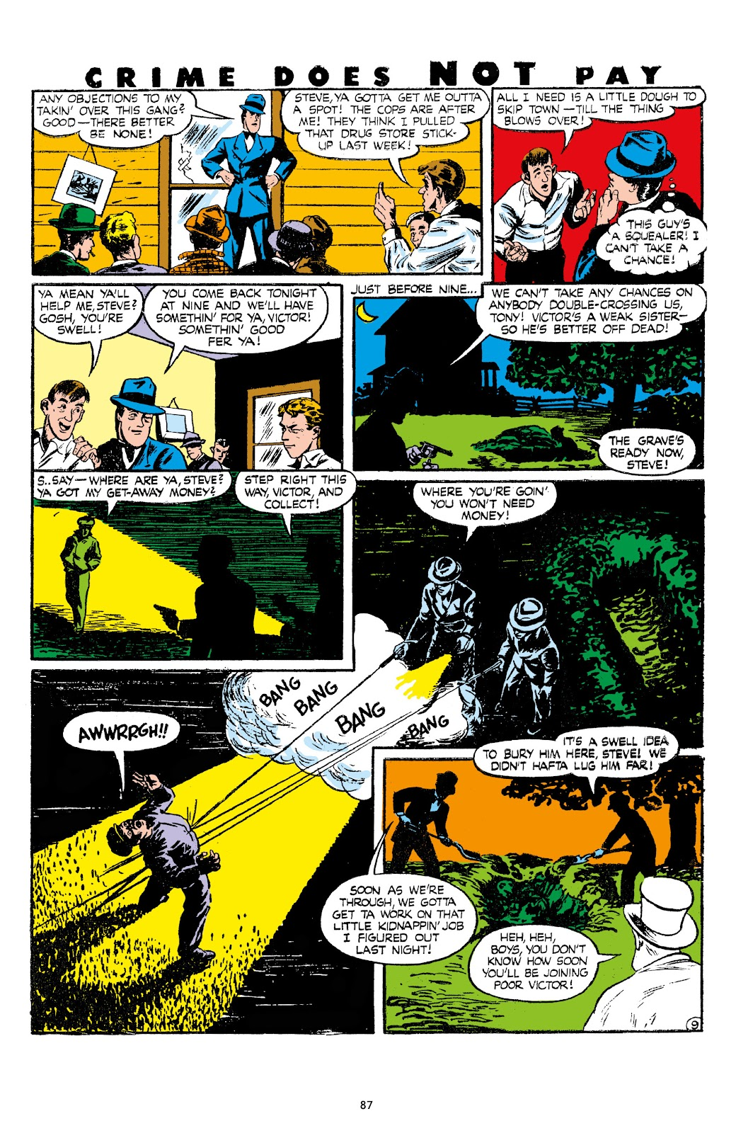 Read online Crime Does Not Pay Archives comic -  Issue # TPB 7 (Part 1) - 89