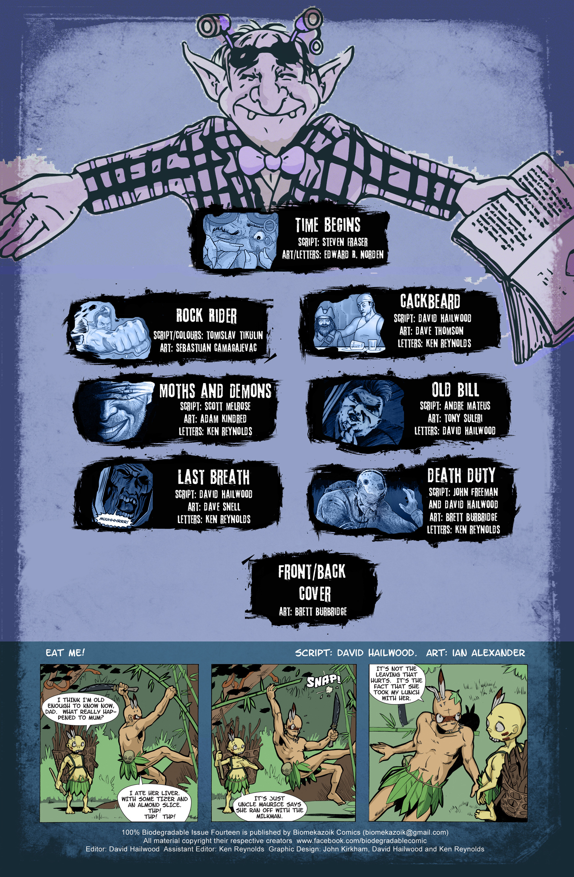 Read online 100% Biodegradable comic -  Issue #14 - 2
