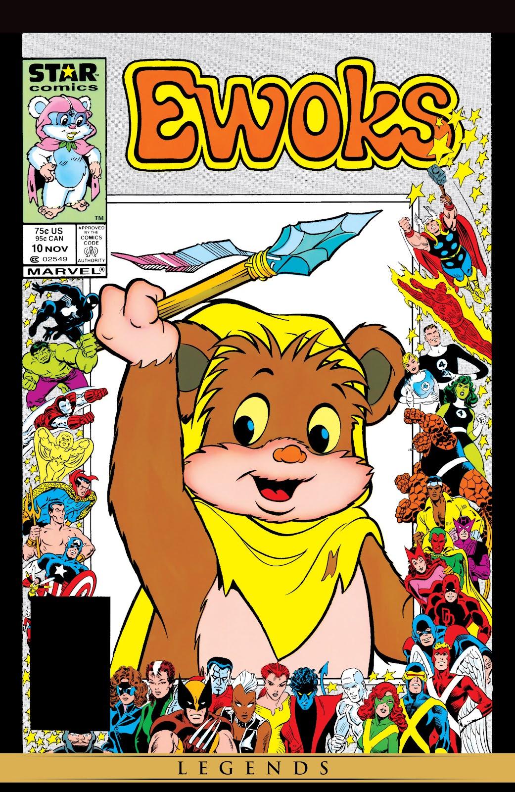 Ewoks issue 10 - Page 1