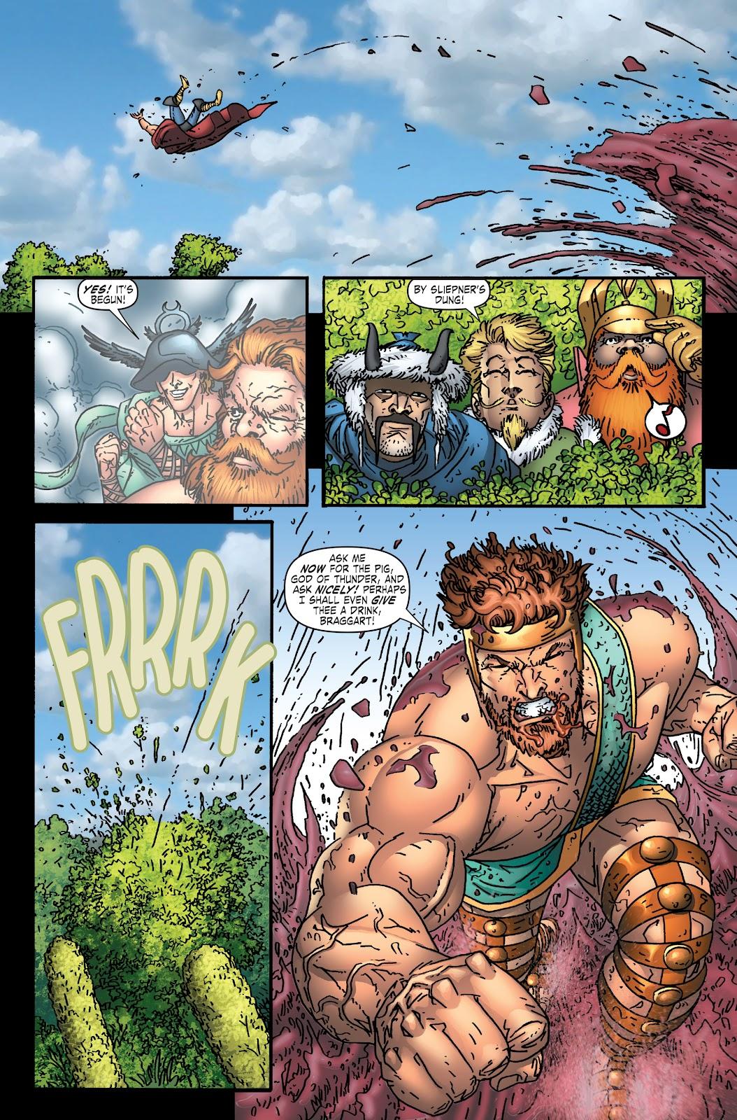 Read online Thor: Ragnaroks comic -  Issue # TPB (Part 1) - 57