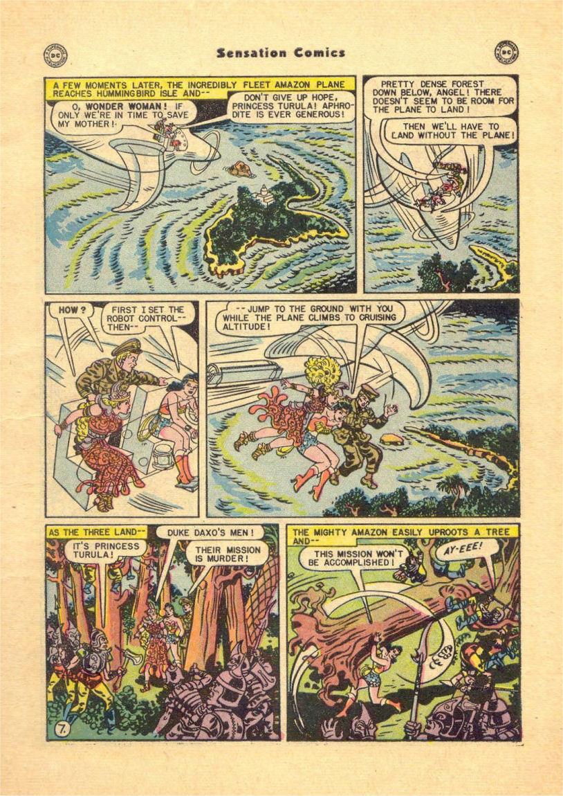 Read online Sensation (Mystery) Comics comic -  Issue #84 - 9