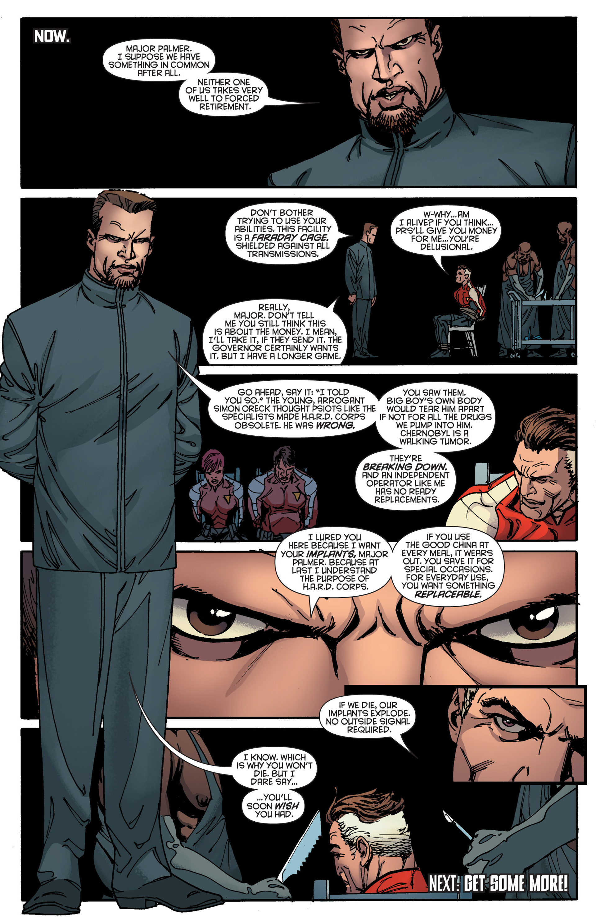 Read online Bloodshot and H.A.R.D.Corps comic -  Issue #18 - 23